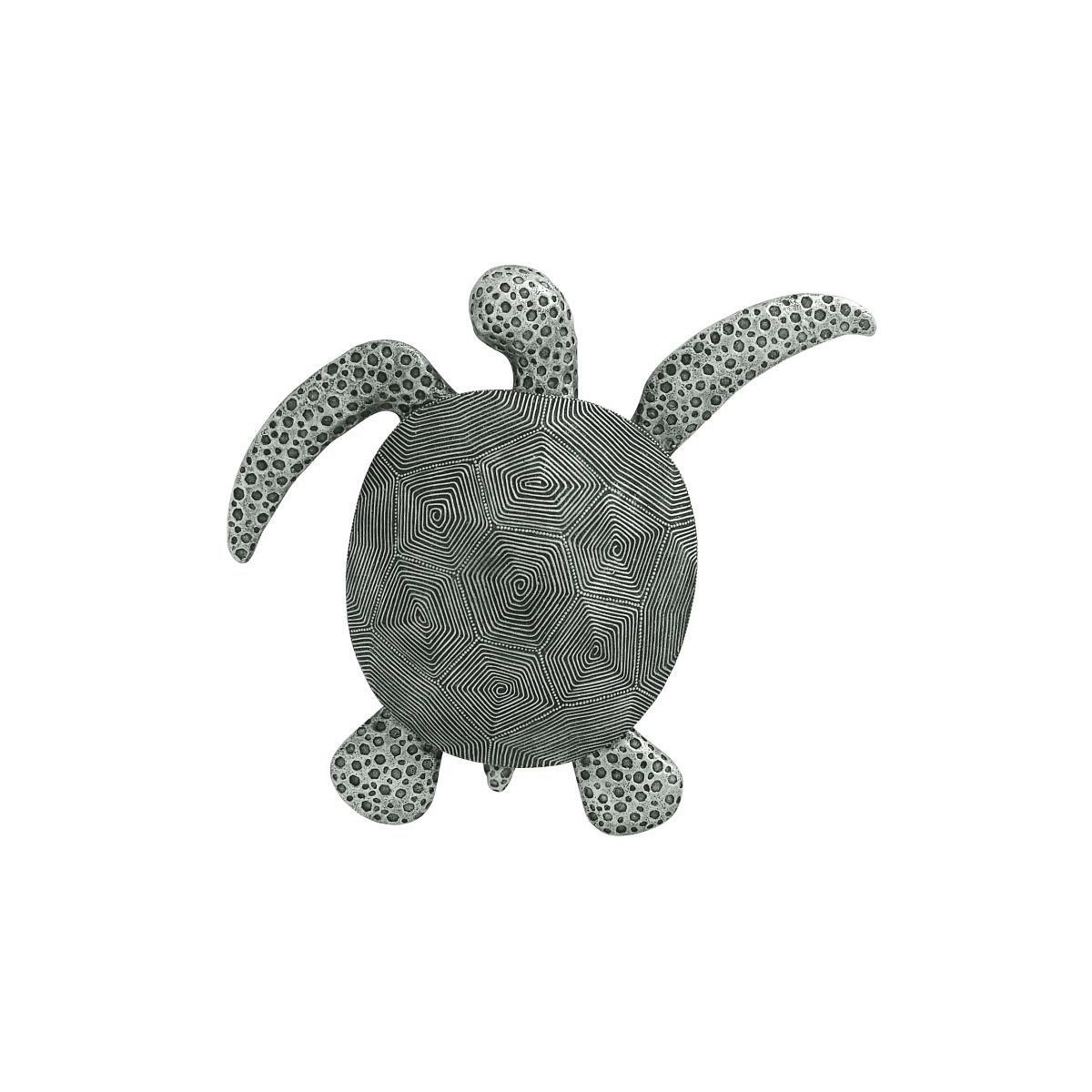 Studio 350 Grey Polystone 2 Inches High X 17 Inches Wide Sea For Rhys Turtle Decor Wall Decor (View 6 of 30)