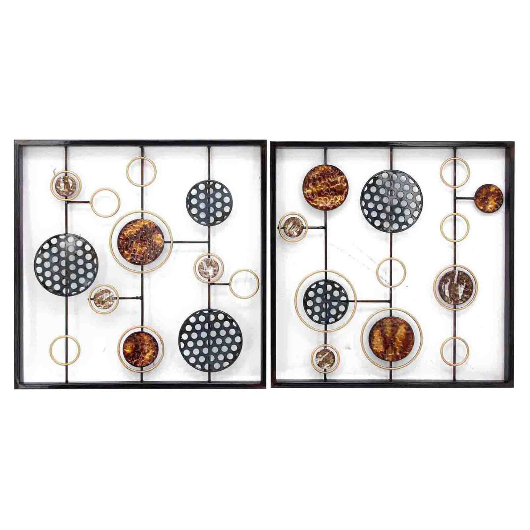 Stylecraft Cosmic Orientation Ii Wall Sculptures – Set Of 2 Throughout Panel Wood Wall Decor Sets (set Of 2) (View 4 of 30)