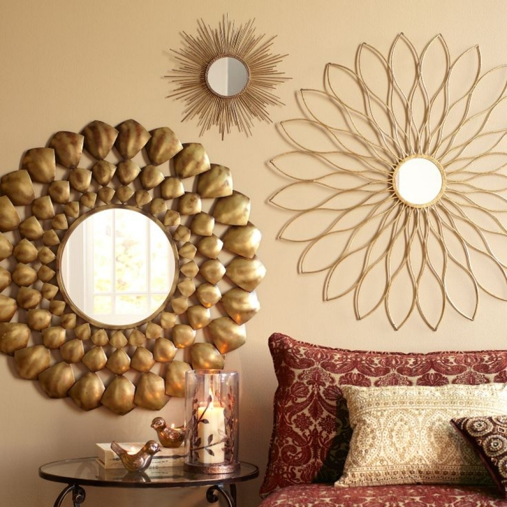 Stylish Mirror Sets Wall Decor Ideas Awesome Design Round For 4 Piece Wall Decor Sets (View 14 of 30)