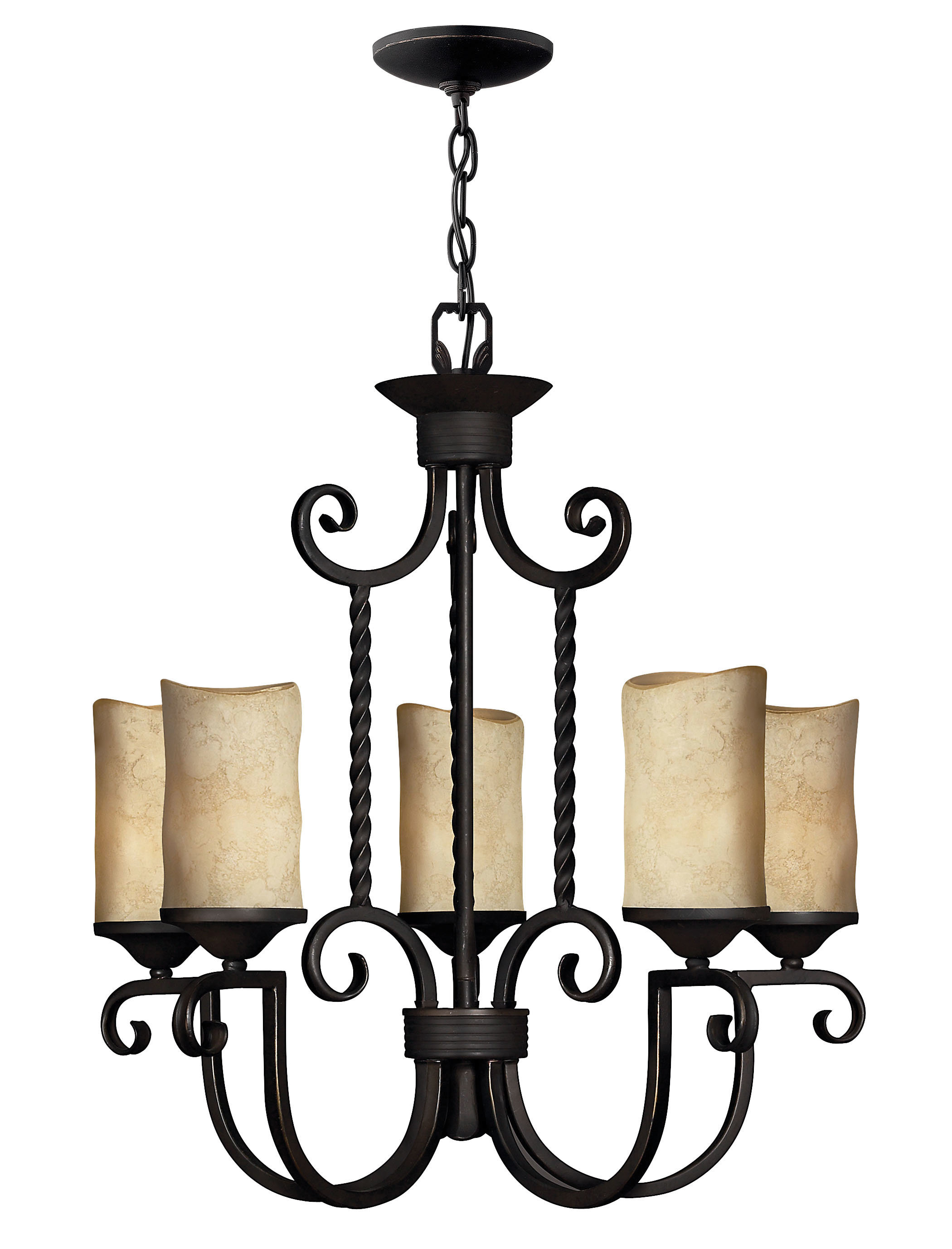 Suki 5 Light Shaded Chandelier | Wayfair Regarding Suki 5 Light Shaded Chandeliers (View 21 of 30)