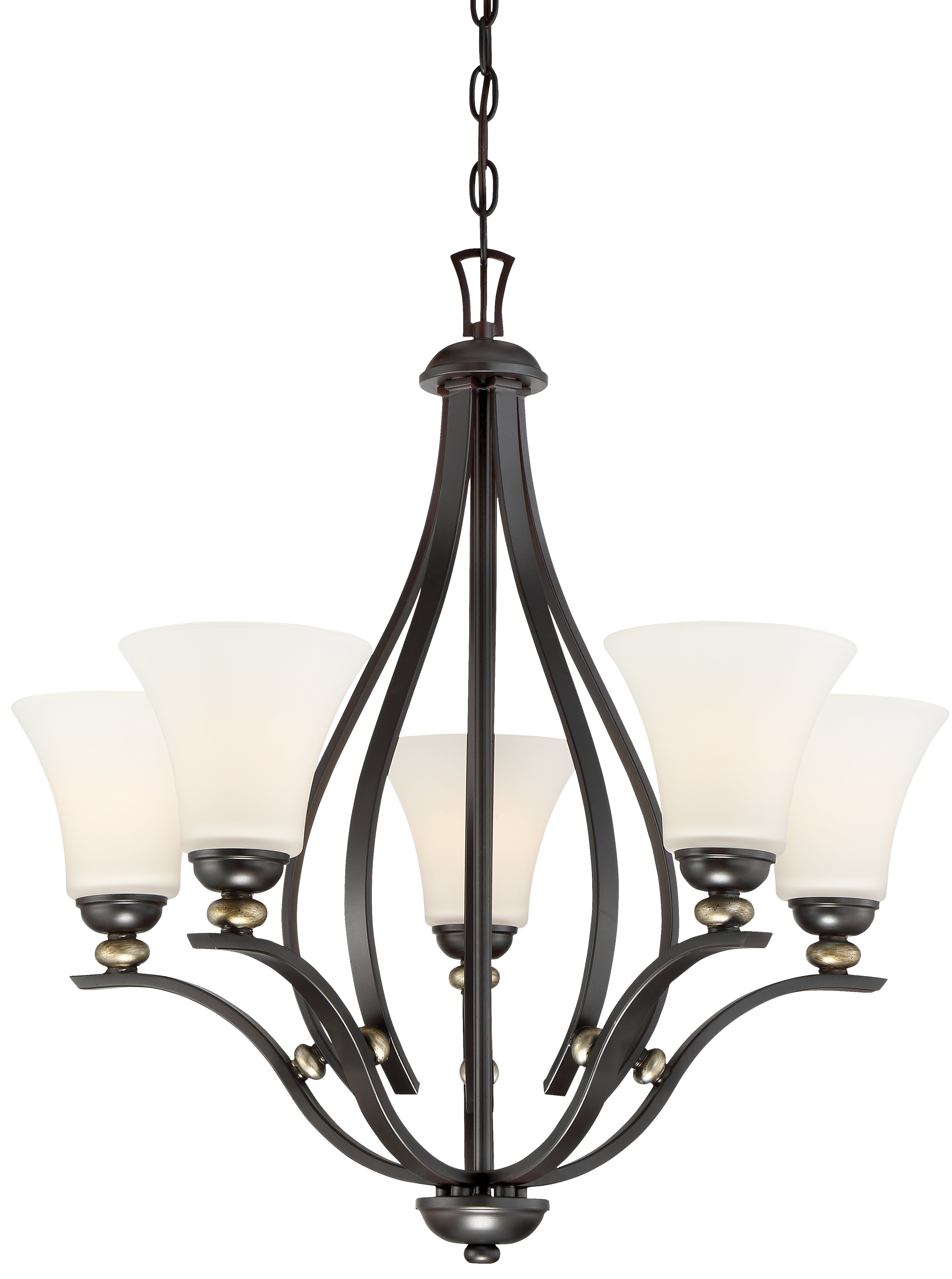 Suki 5 Light Shaded Chandelier | Wayfair Regarding Suki 5 Light Shaded Chandeliers (View 20 of 30)