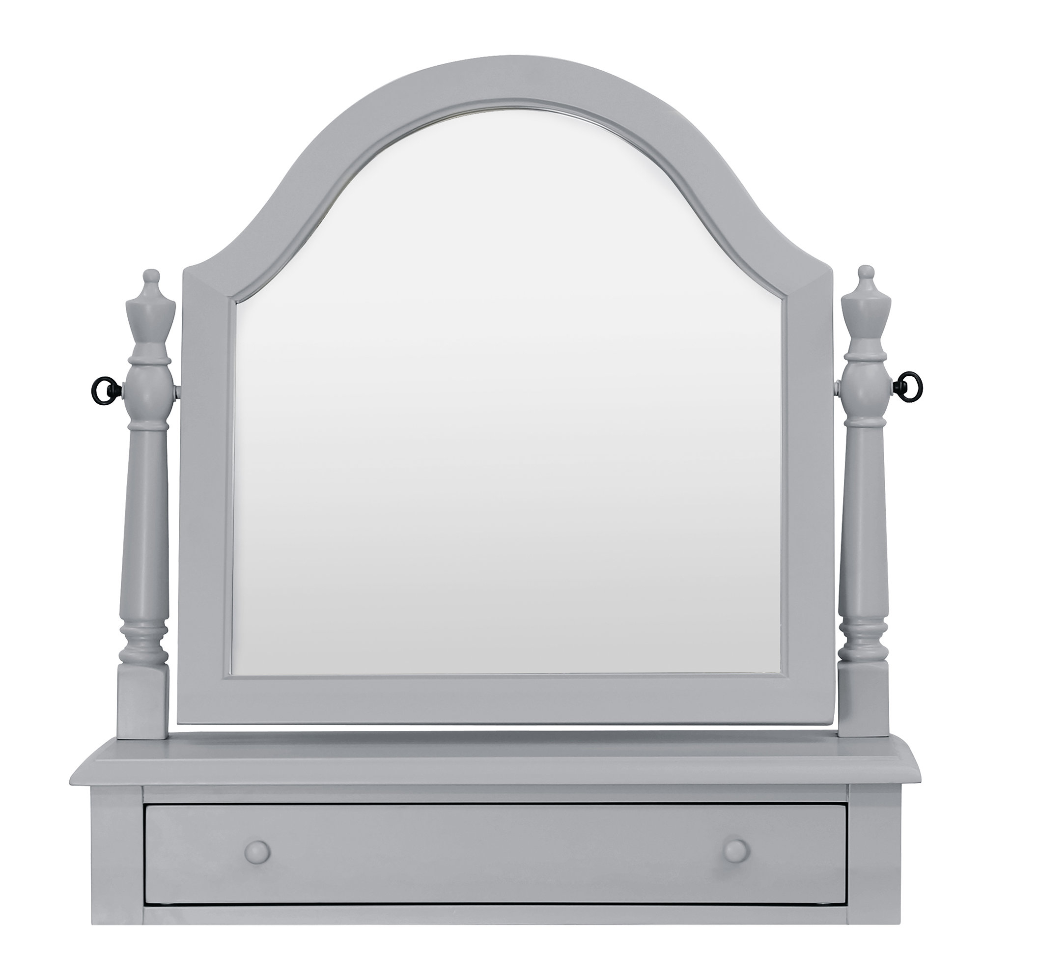 Sullivan Arched Dresser Mirror for Dariel Tall Arched Scalloped Wall Mirrors (Image 23 of 30)