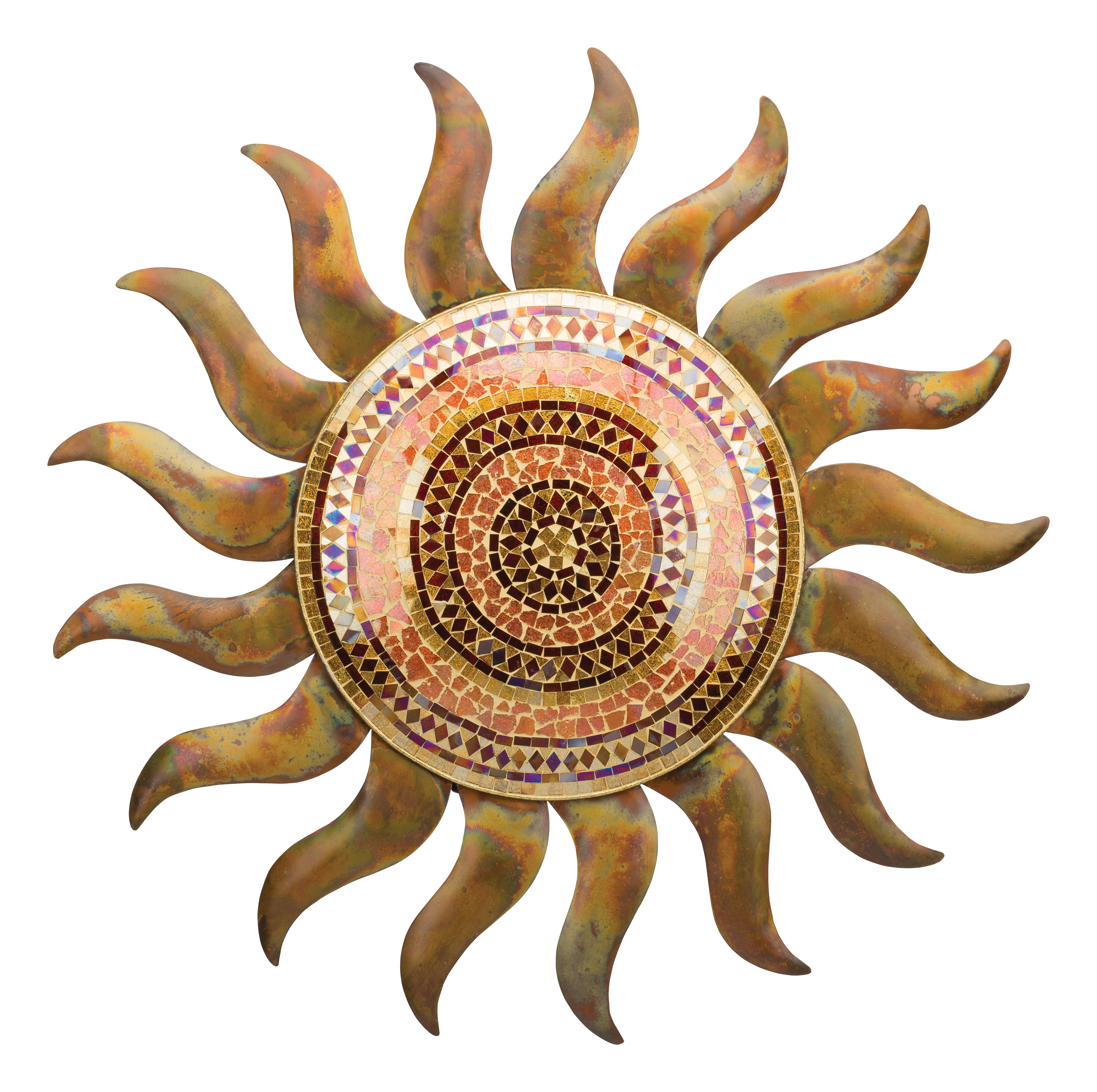 Sun And Moon Metal Wall Art | Wayfair Within Recycled Moon And Sun Wall Decor (View 15 of 30)