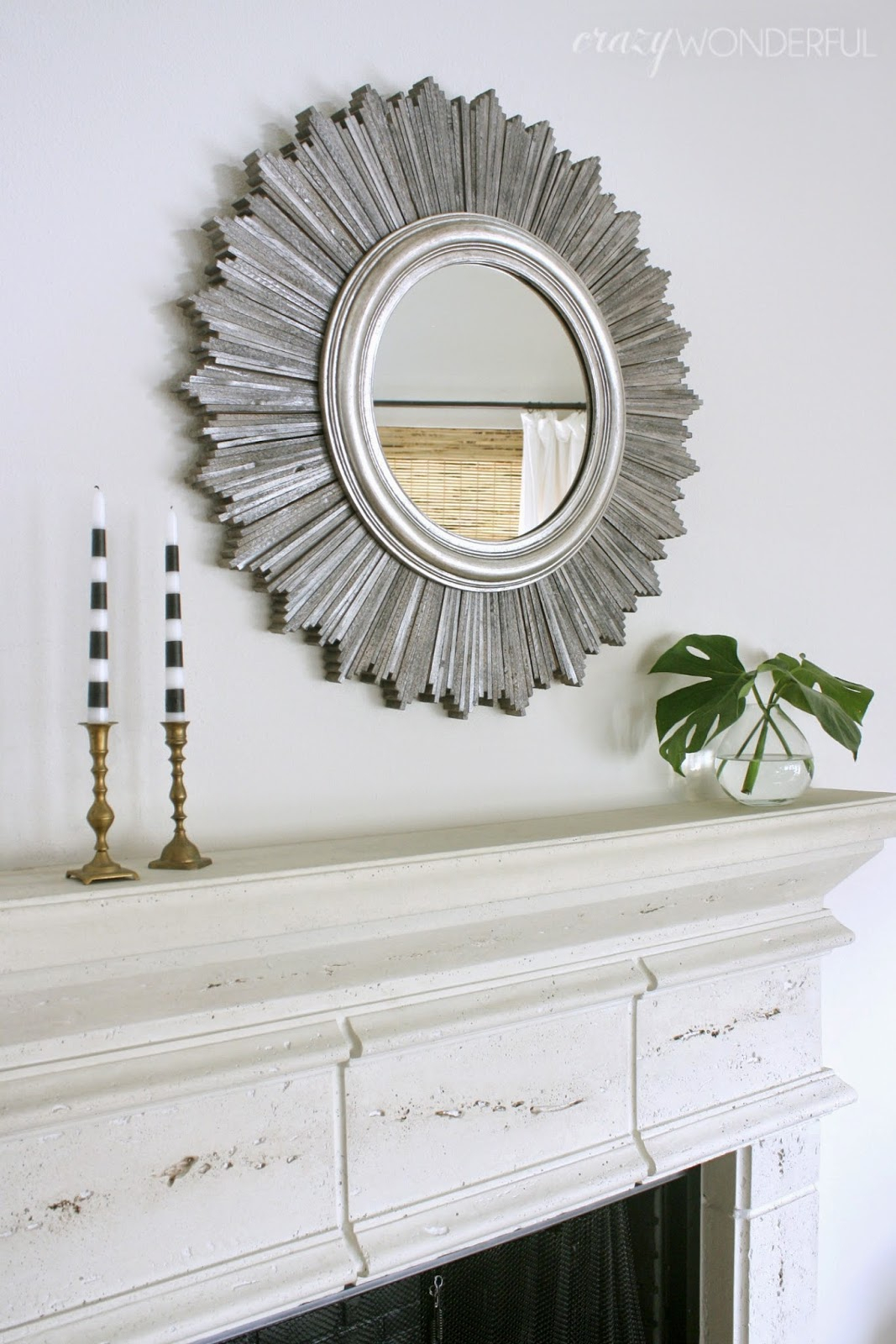 Sunburst Mirror Diy – Crazy Wonderful With Regard To Deniece Sunburst Round Wall Mirrors (View 23 of 30)