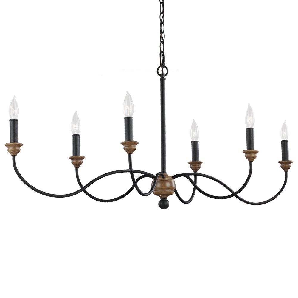 Sundberg 6 Light Candle Style Chandelier Intended For Shaylee 6 Light Candle Style Chandeliers (View 26 of 30)