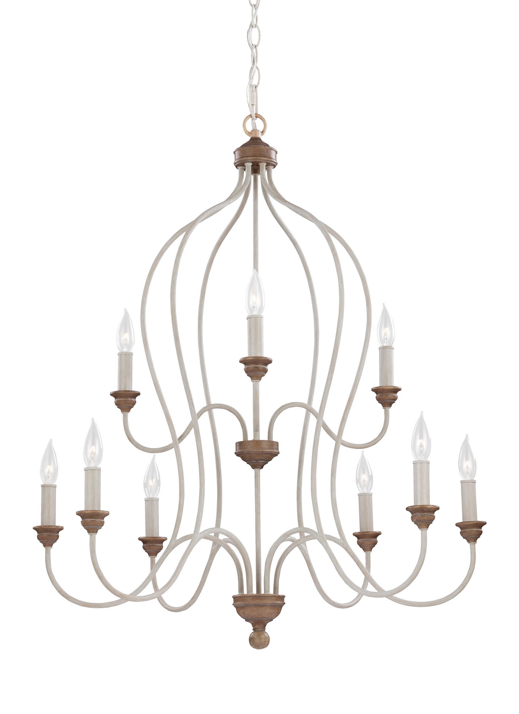 Sundberg 9-Light Candle Style Chandelier pertaining to Watford 9-Light Candle Style Chandeliers (Image 20 of 30)