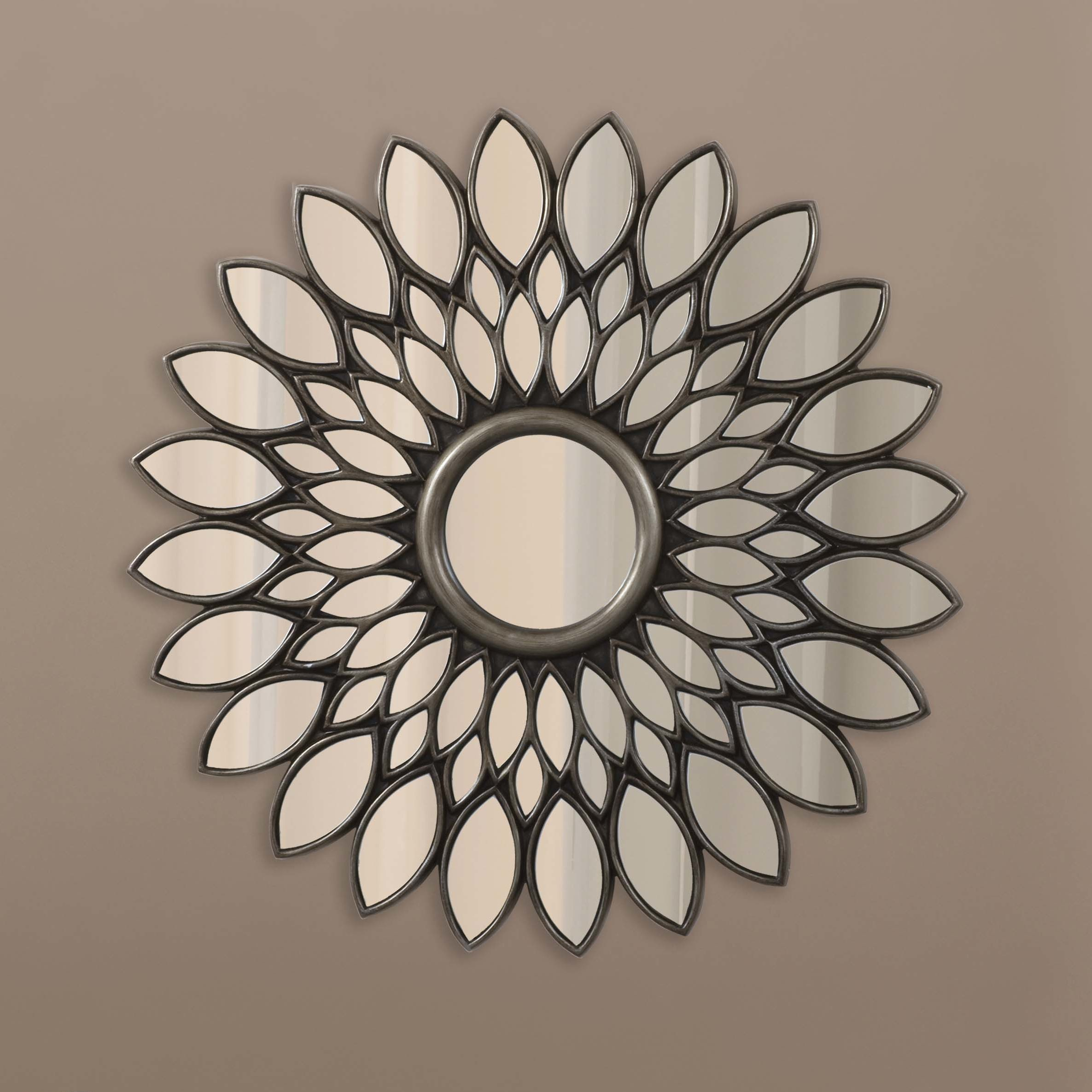Sunflower Accent Mirror In Newtown Accent Mirrors (View 8 of 30)
