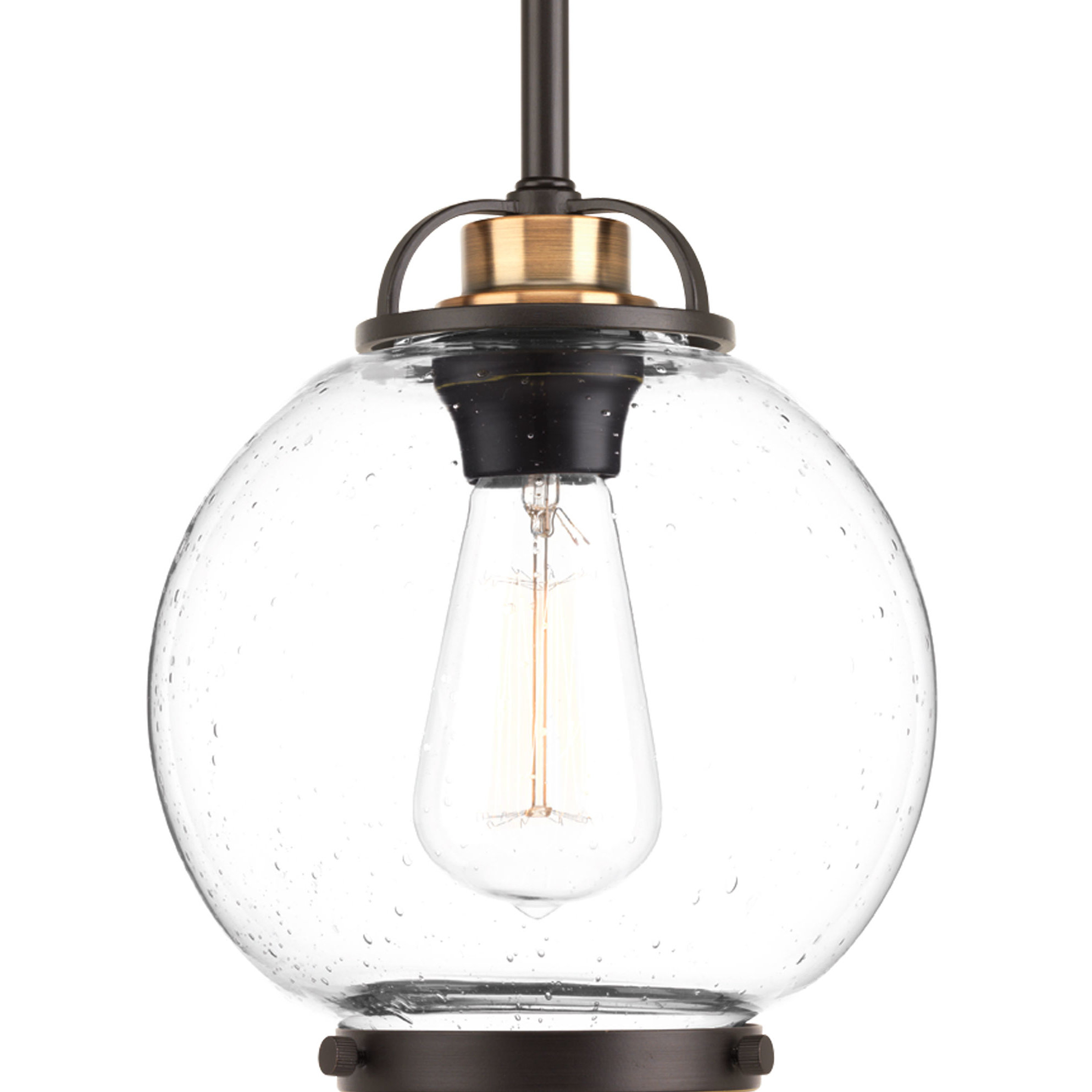 Suzan 1 Light Single Globe Pendant Pertaining To Cayden 1 Light Single Globe Pendants (View 28 of 30)