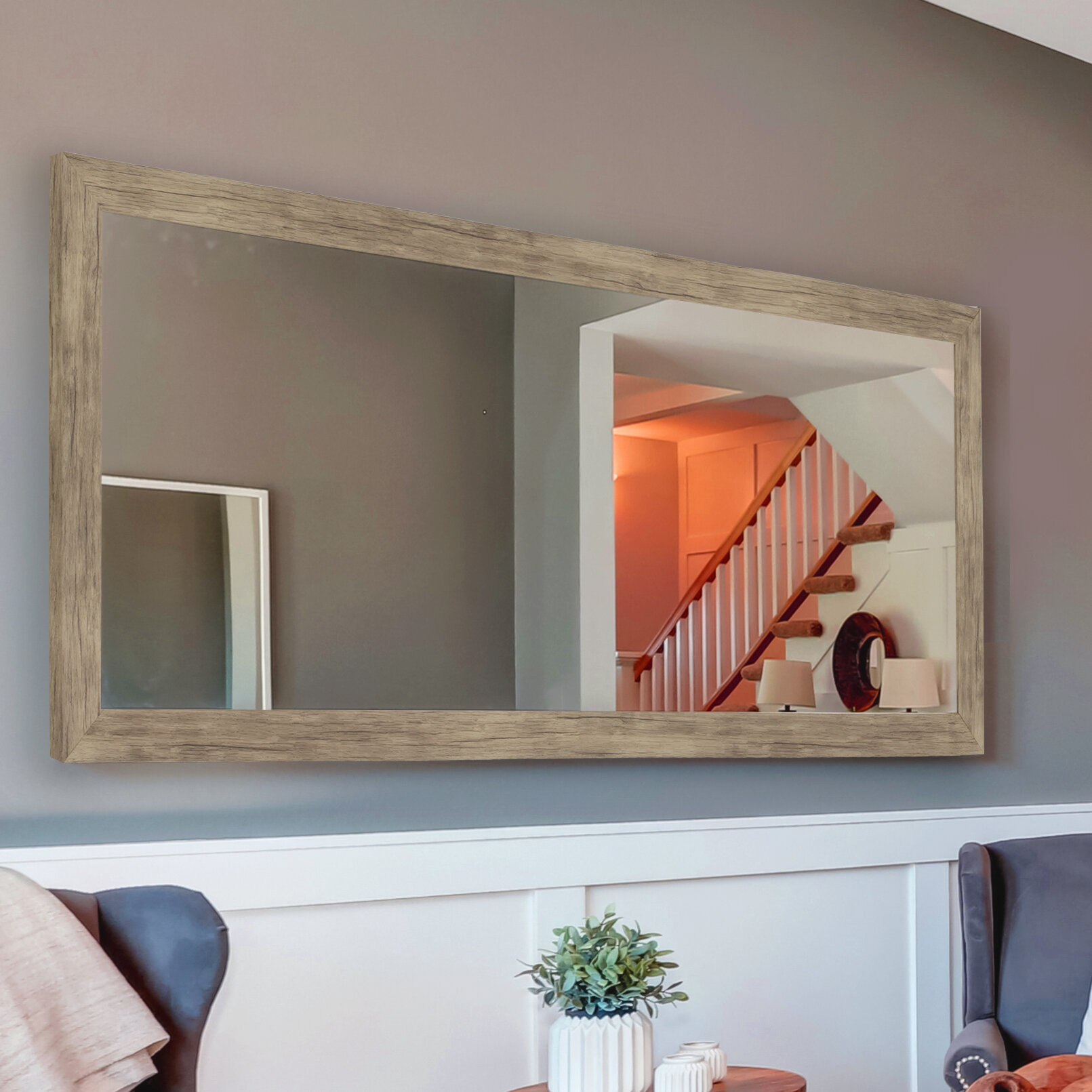 Swearengin Weathered Accent Mirror regarding Bartolo Accent Mirrors (Image 26 of 30)