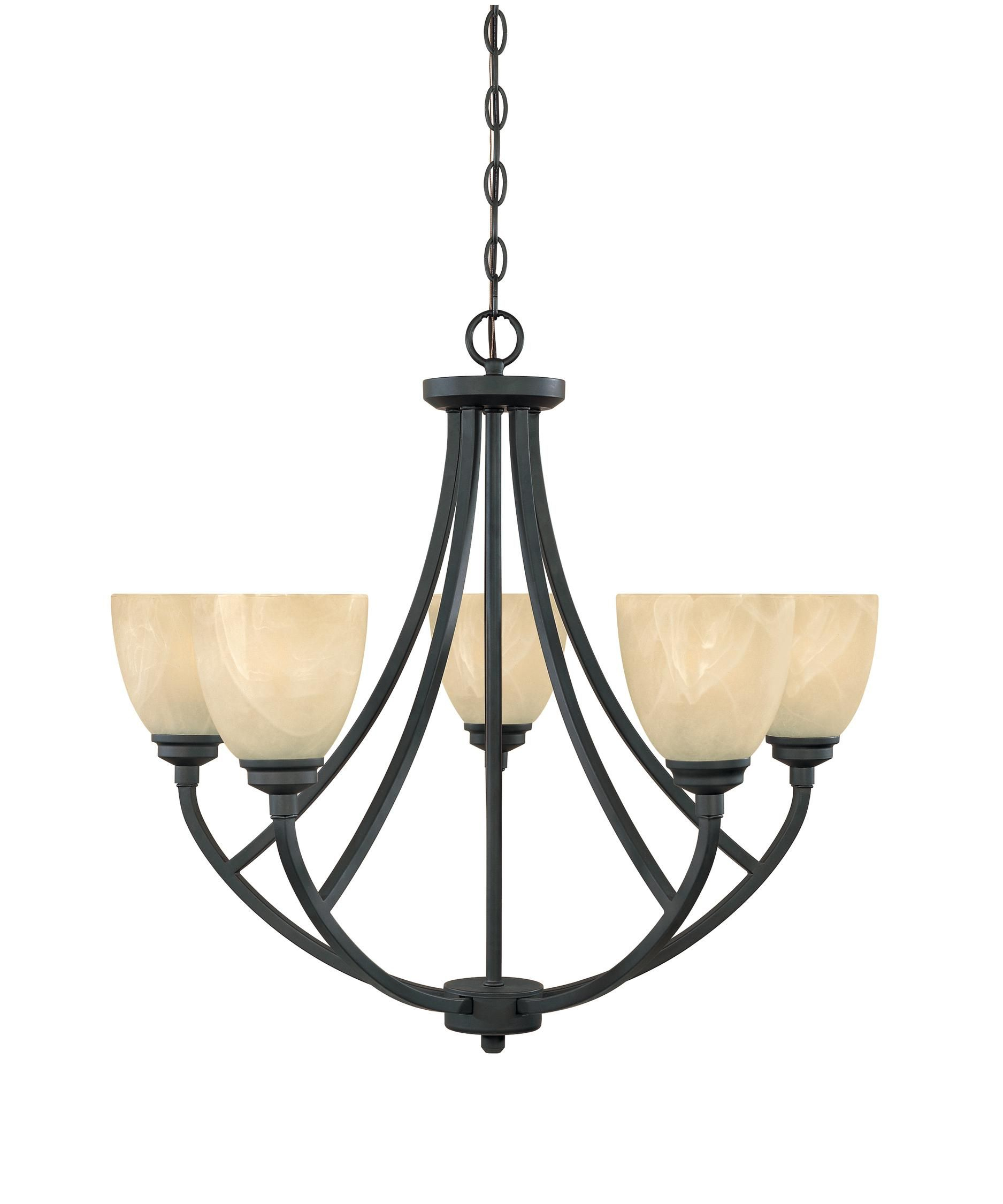 Tackwood 27 Inch 5 Light Chandelierdesigners Fountain With Suki 5 Light Shaded Chandeliers (View 27 of 30)