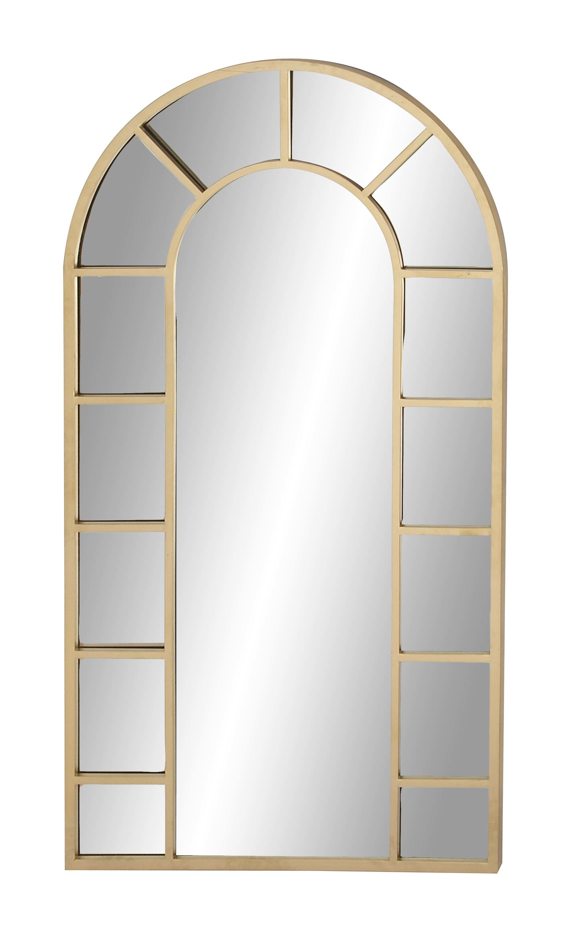 Tall Arched Scalloped Mirror | Wayfair in Dariel Tall Arched Scalloped Wall Mirrors (Image 24 of 30)