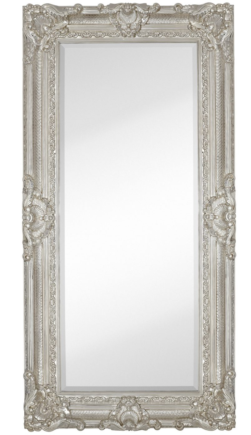 Tall Wall Mirrors Antique Large Decorative Mirrors Tall Wall within Dariel Tall Arched Scalloped Wall Mirrors (Image 26 of 30)