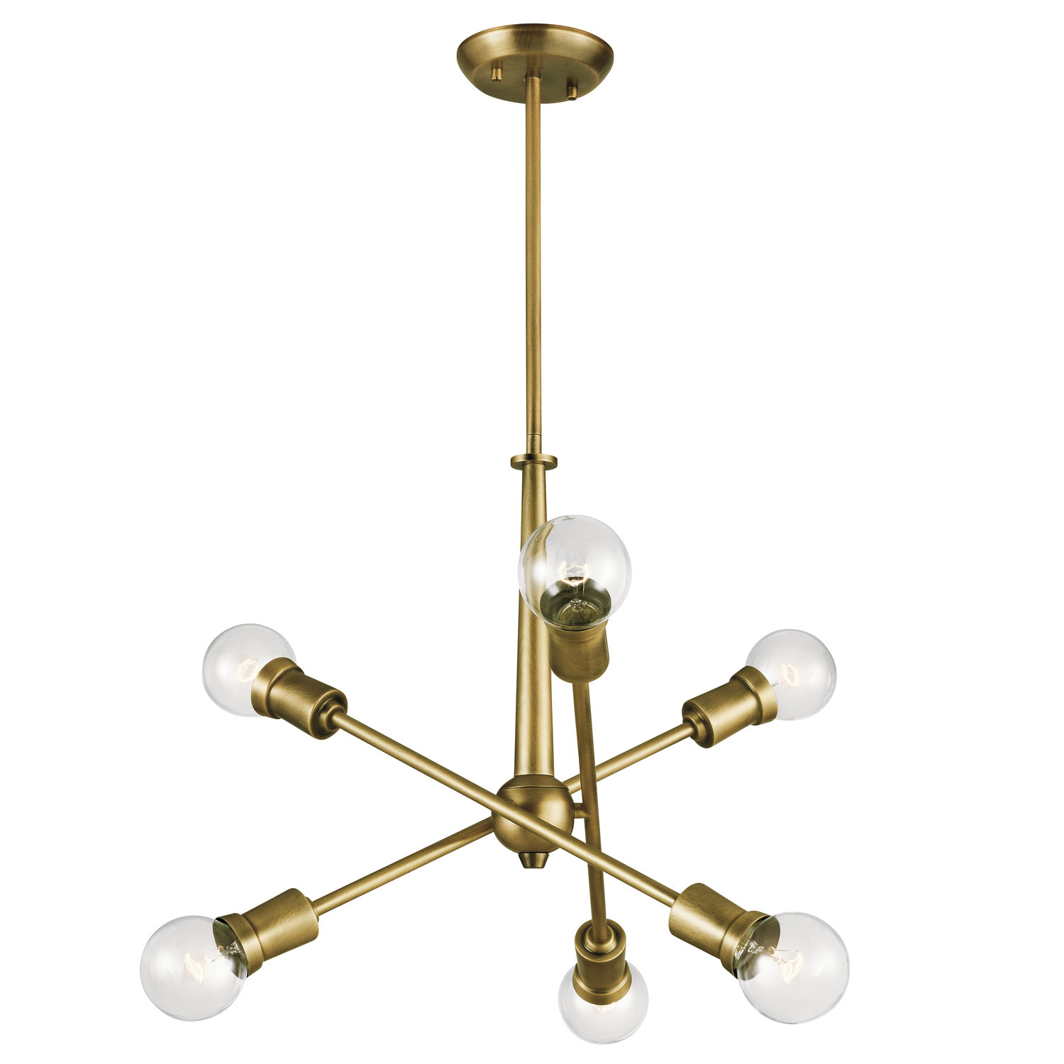 Tatum 6 Light Chandelier For Eladia 6 Light Sputnik Chandeliers (View 22 of 30)