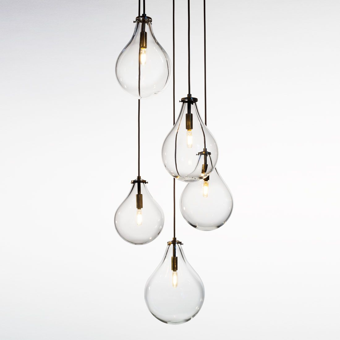 Teardrop Chandelier | Althuis In 2019 | Lighting, Glass within Berenice 3-Light Cluster Teardrop Pendants (Image 26 of 30)