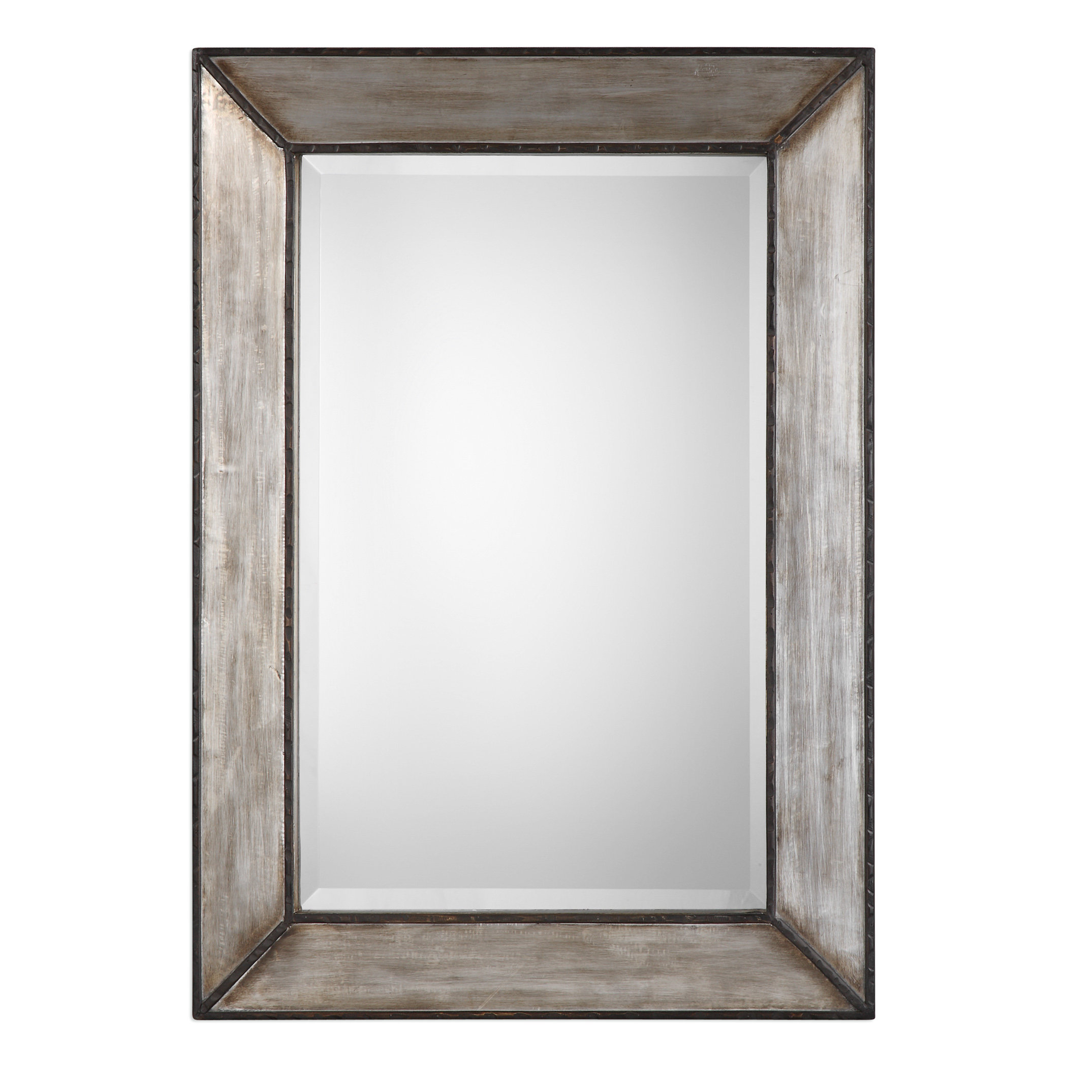 Terri Traditional Rectangle Framed Accent Mirror In Maude Accent Mirrors (View 8 of 30)