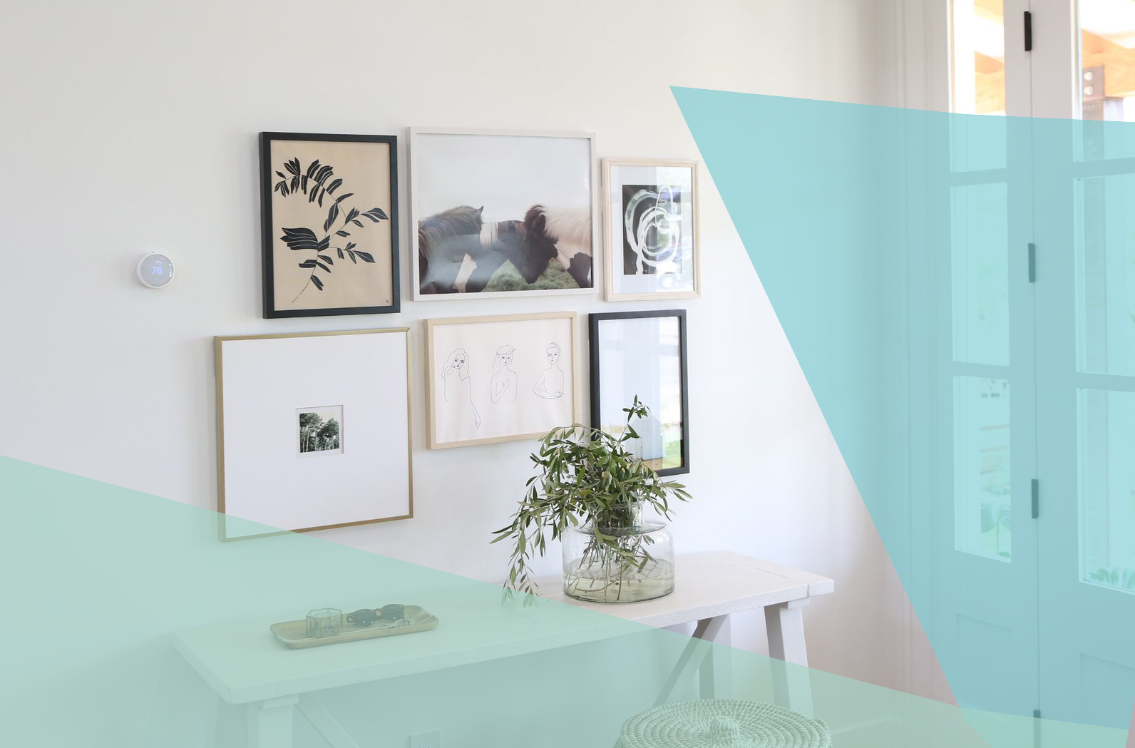 The Best Places To Buy Affordable Art Online | Real Simple With Personalized Mint Distressed Vintage Look Laundry Metal Sign Wall Decor (View 21 of 30)