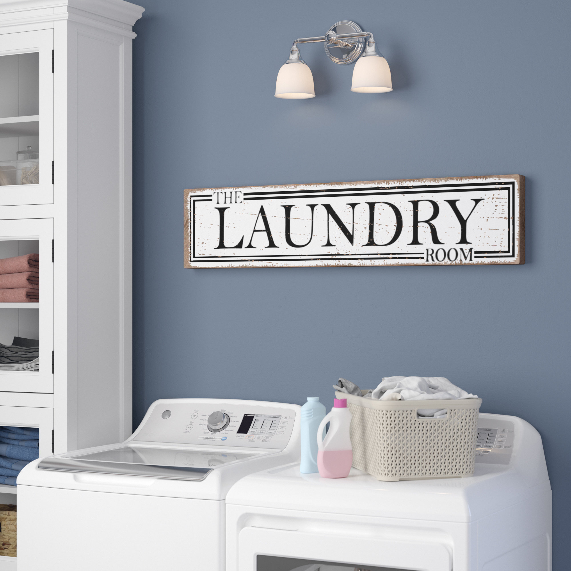 The Laundry Room Wall Décor Regarding Wall Decor By Charlton Home (View 6 of 30)