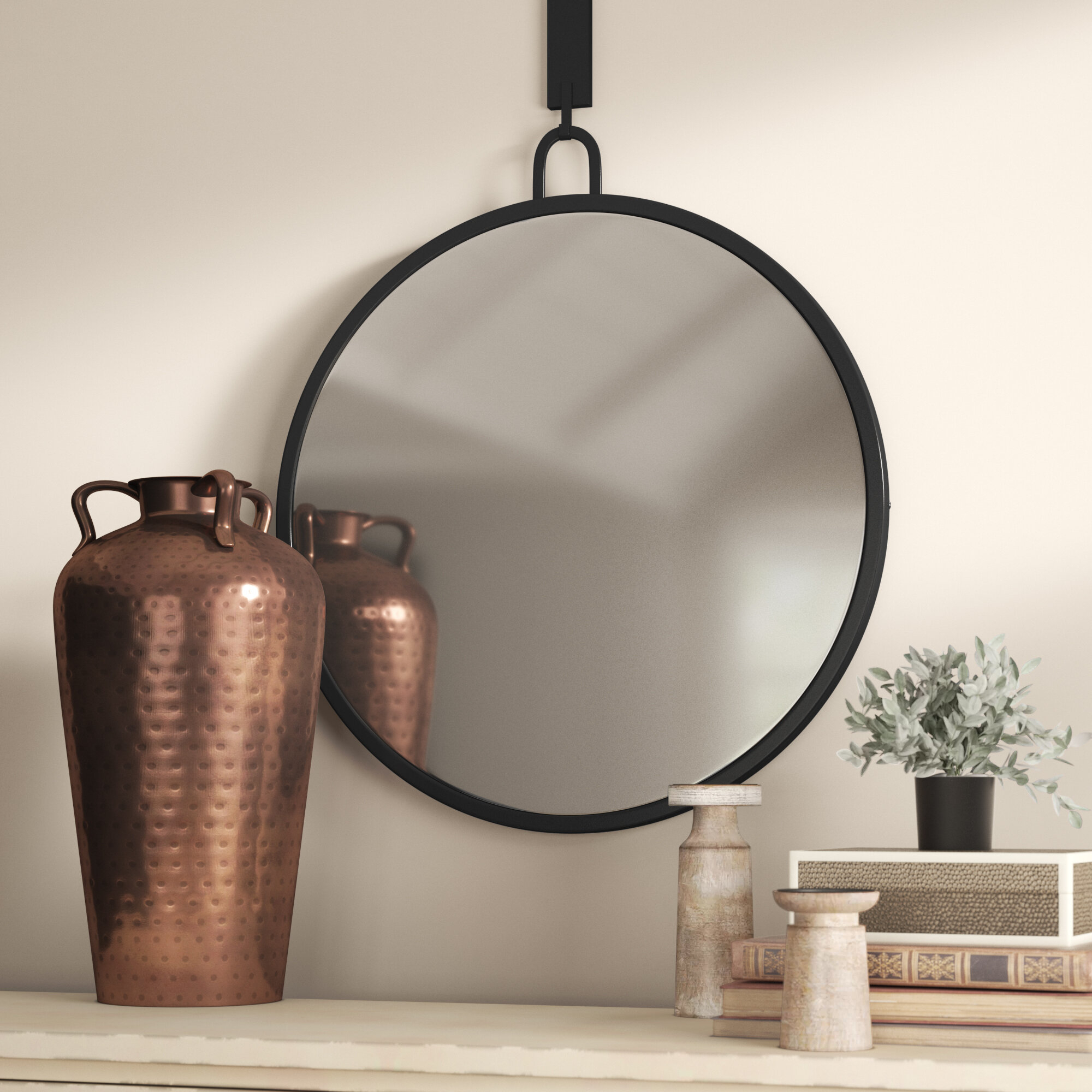 Theodore Modern & Contemporary Accent Mirror pertaining to Hub Modern And Contemporary Accent Mirrors (Image 21 of 30)