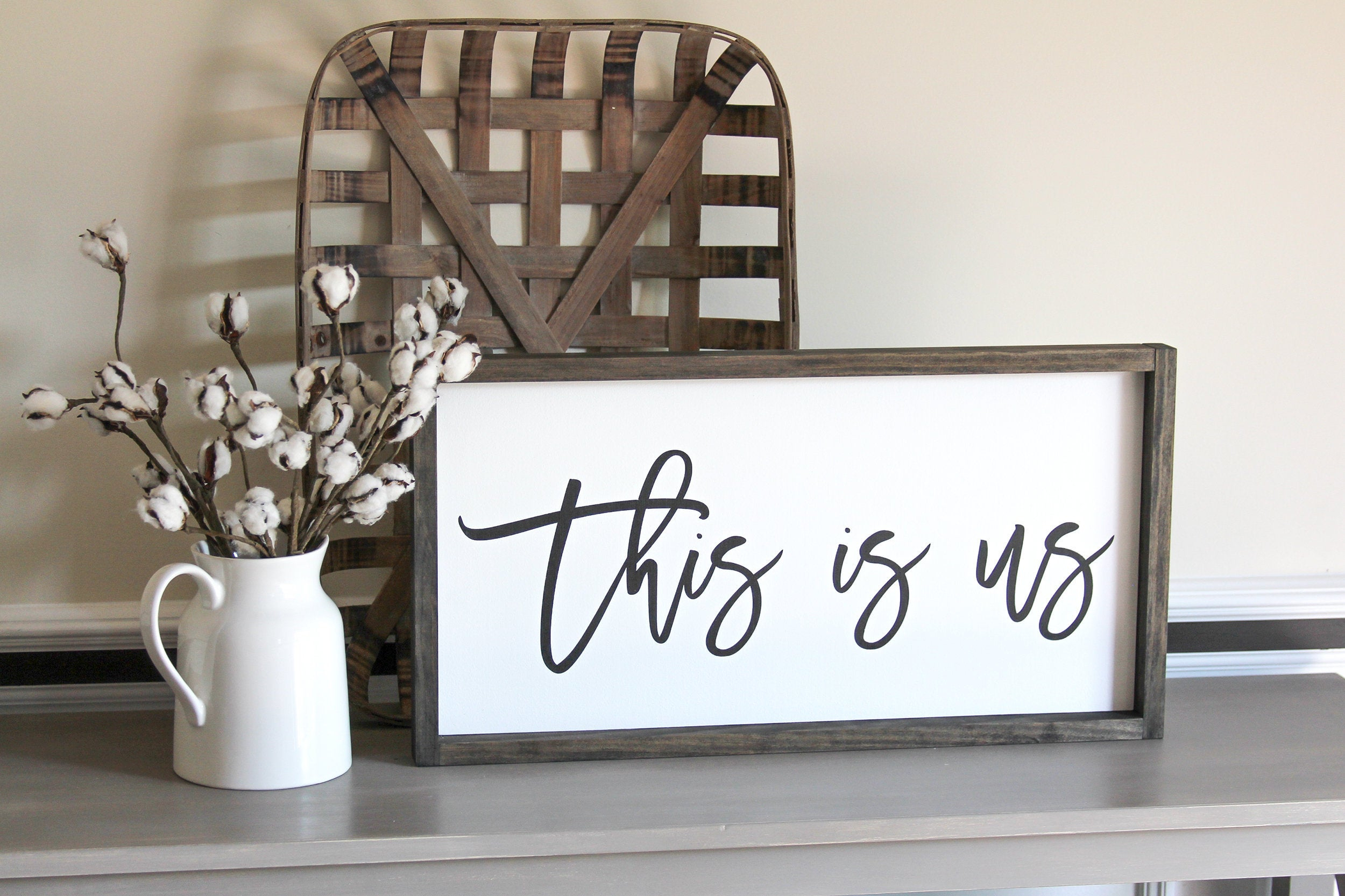 This Is Us Sign - Rustic Home Decor - Anniversary Gift For Couples - Family  Wall Decor - Wooden Sign - Rustic Wall Sign - Housewarming Gift in This Is Us Wall Decor (Image 16 of 30)