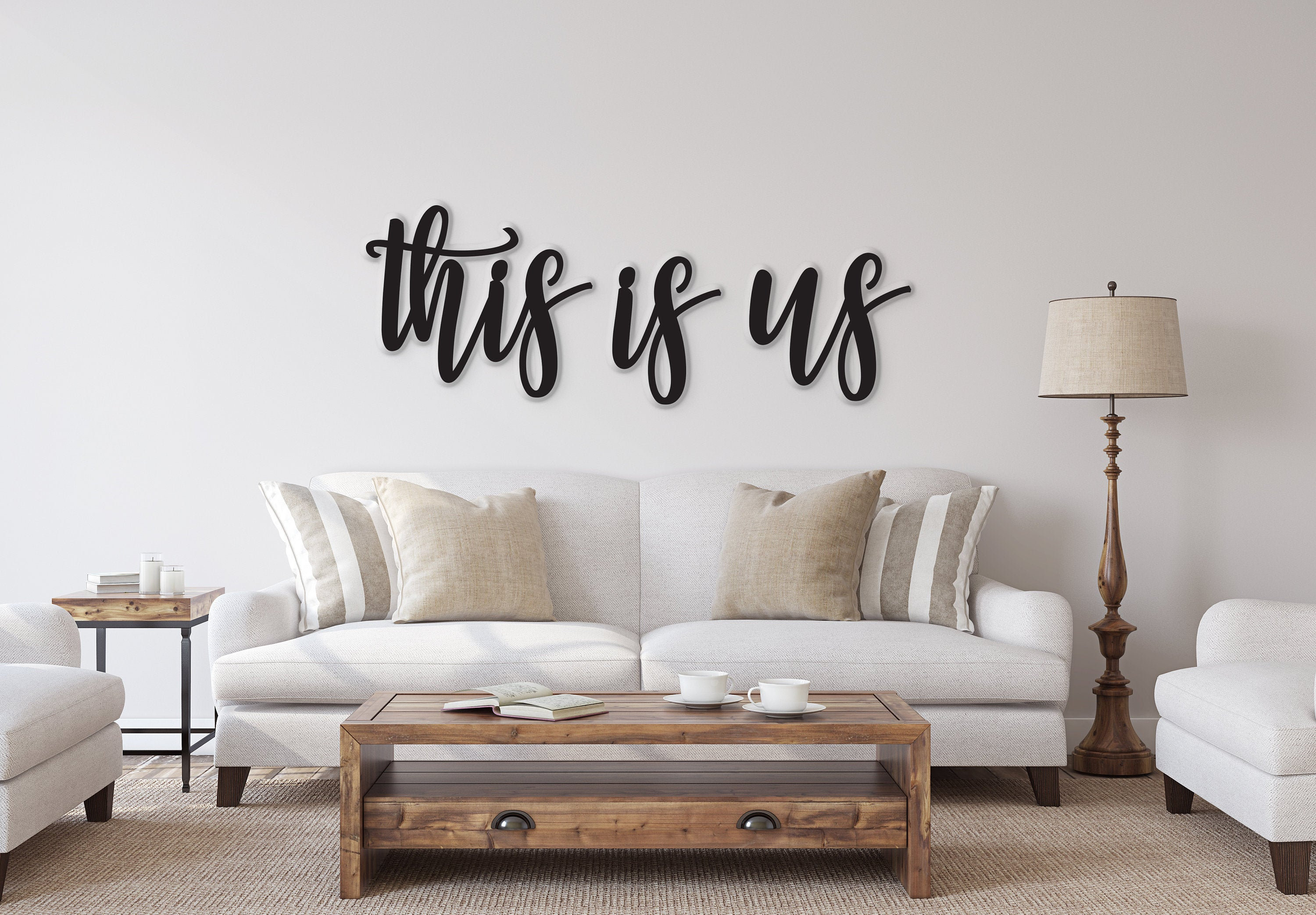This Is Us Sign, This Is Us Wall Decor, This Us Wall Hanging, This Is Us Wood Sign, Family Room Decor, Thanksgiving Decor, Dining Room Decor Pertaining To This Is Us Wall Decor (View 7 of 30)