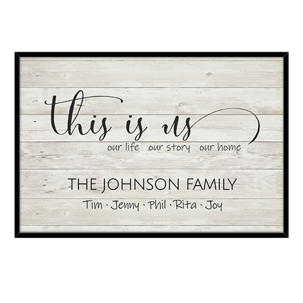 This Is Us Sign Within This Is Us Wall Decor (View 9 of 30)