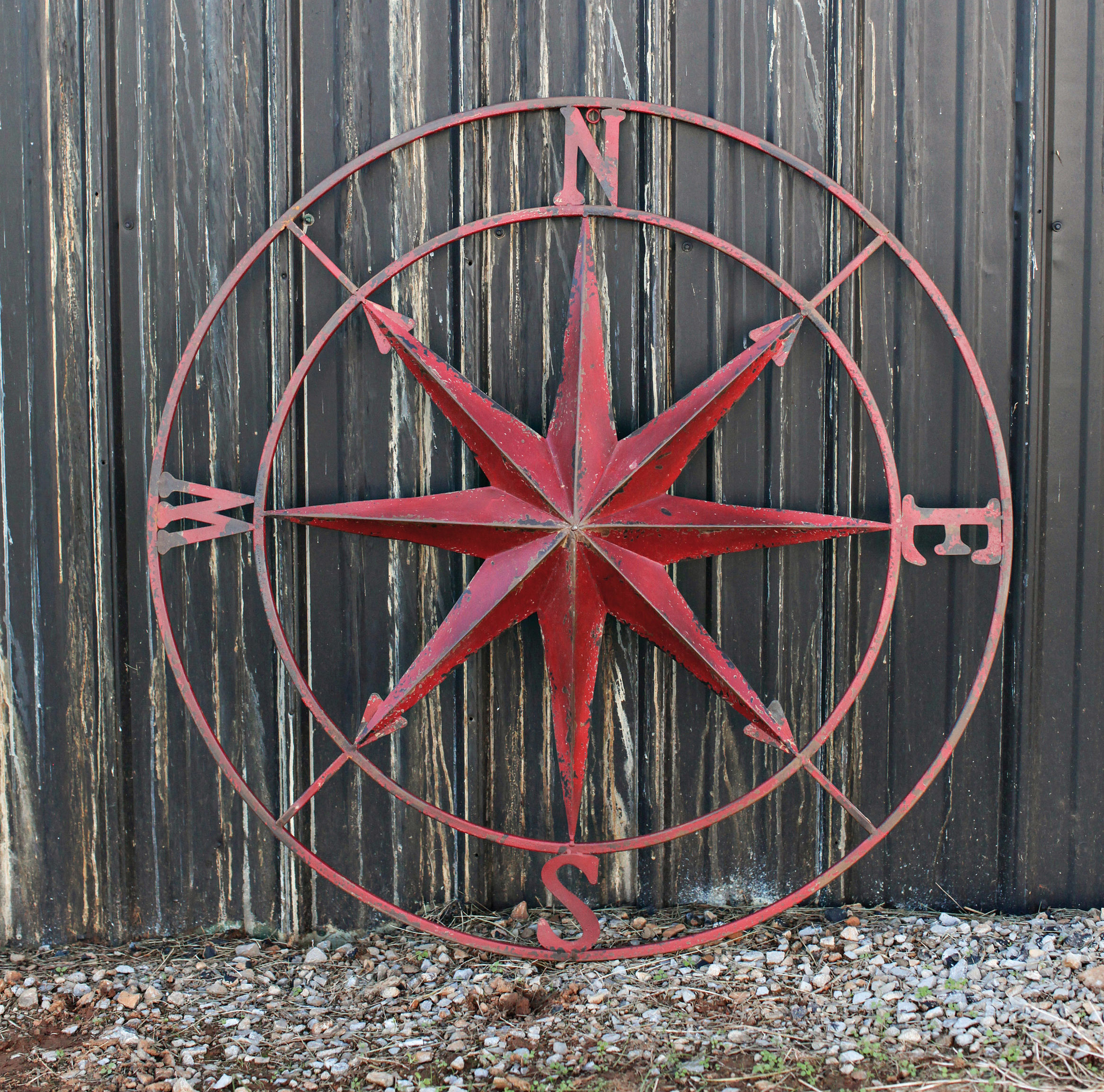 Three Posts Round Compass Wall Décor Intended For Round Compass Wall Decor (View 10 of 30)