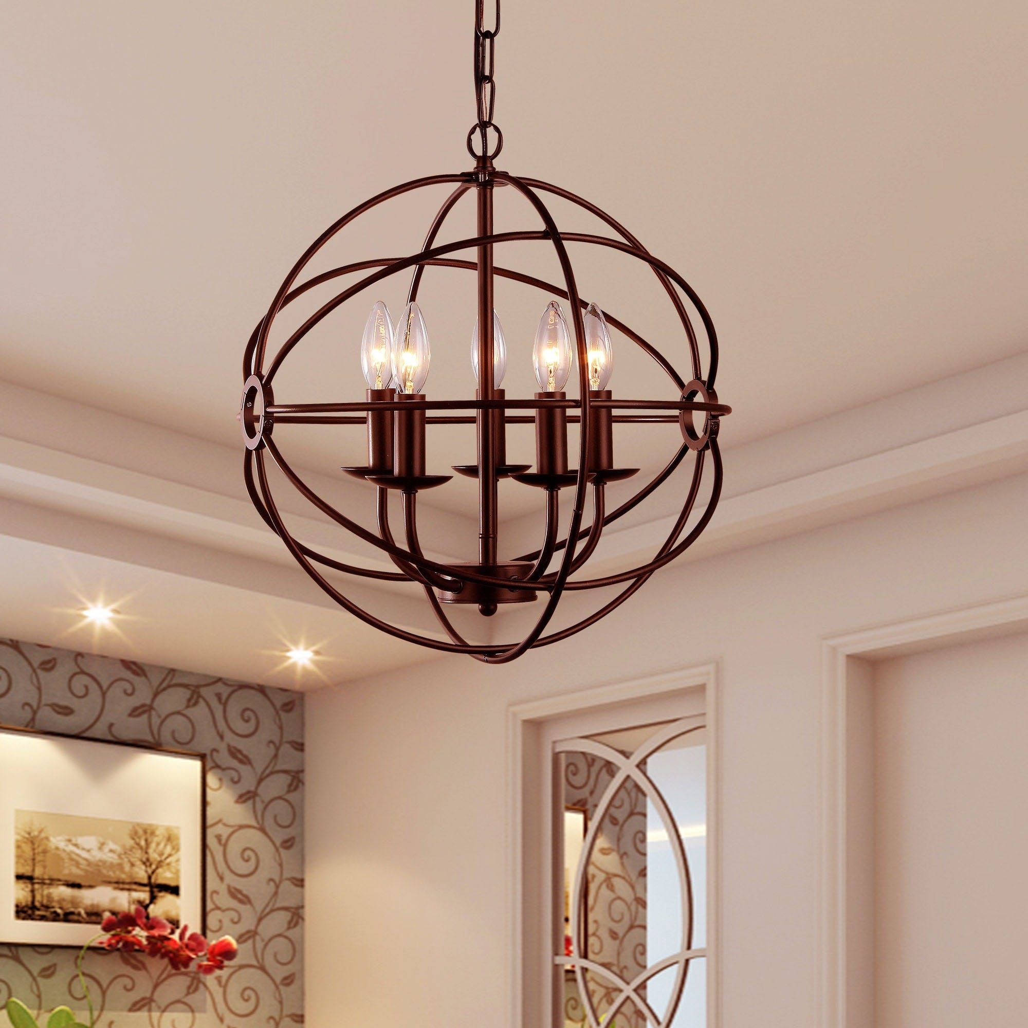 Thumbnail 1 | Lighting In 2019 | Chandelier Lighting Within Verlene Foyer 5 Light Globe Chandeliers (View 19 of 30)