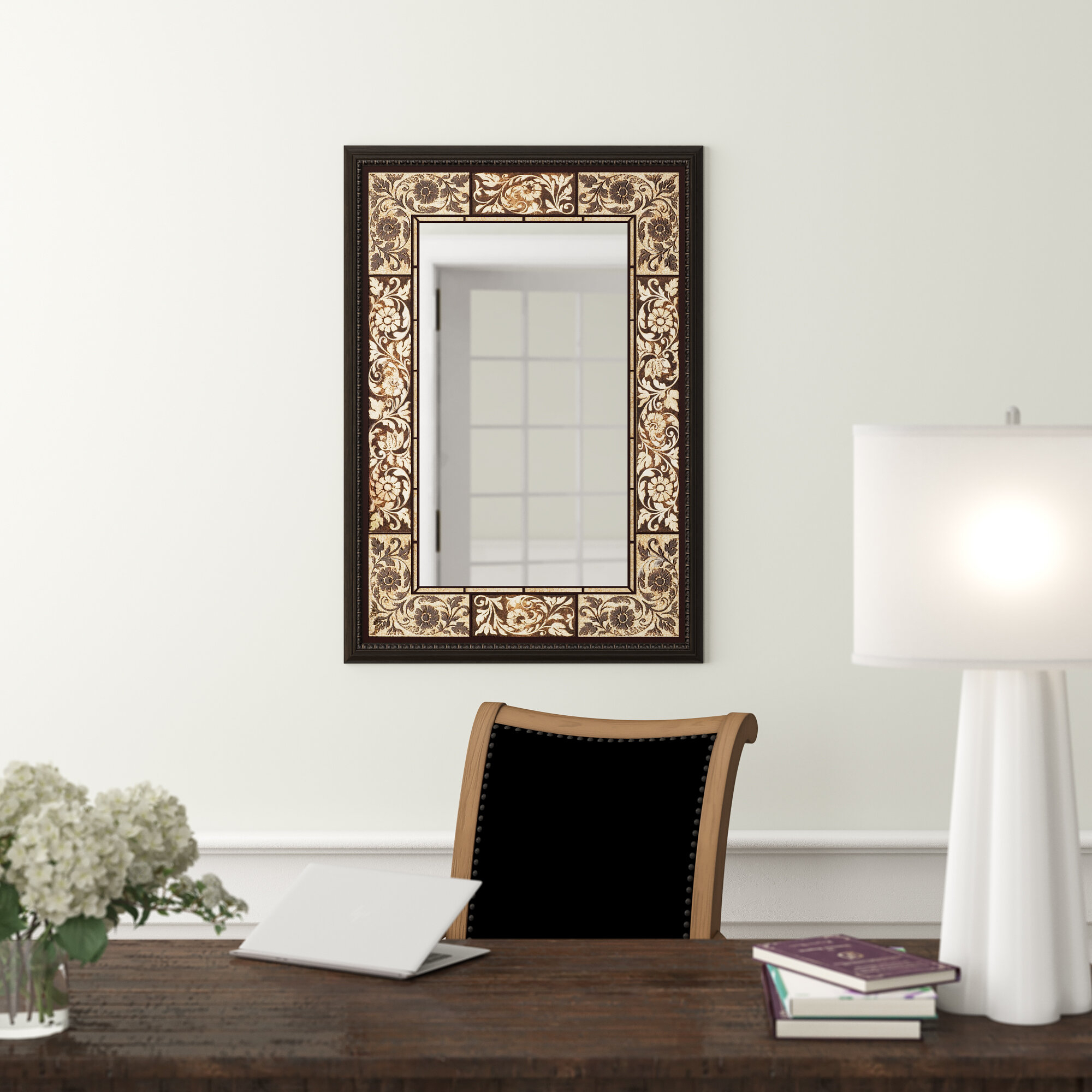 Tile Rectangle Accent Wall Mirror Throughout Rectangle Accent Wall Mirrors (View 5 of 30)