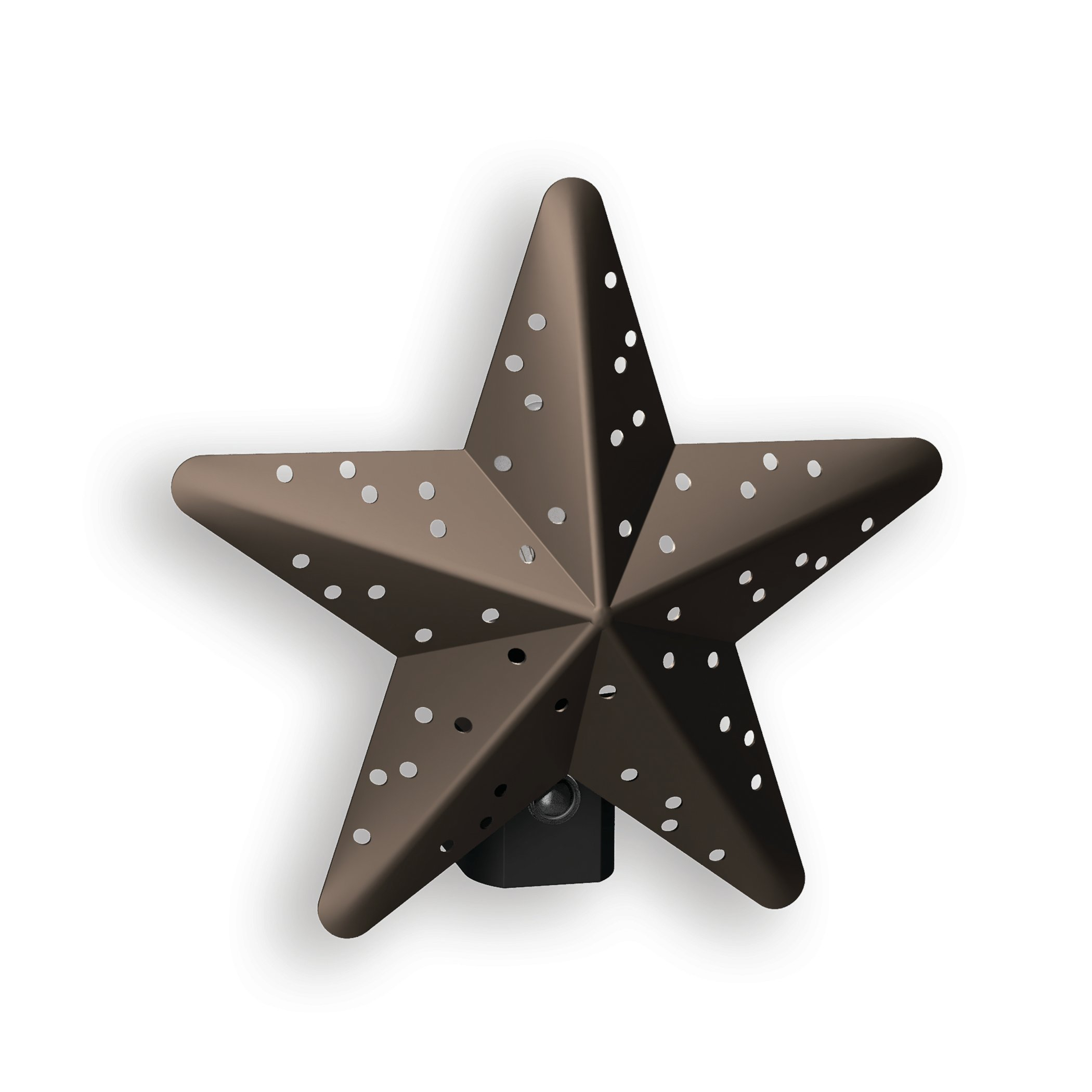 Tin Star | Wayfair with Set of 3 Contemporary 6, 9, and 11 Inch Gold Tin Starburst Sculptures (Image 27 of 30)