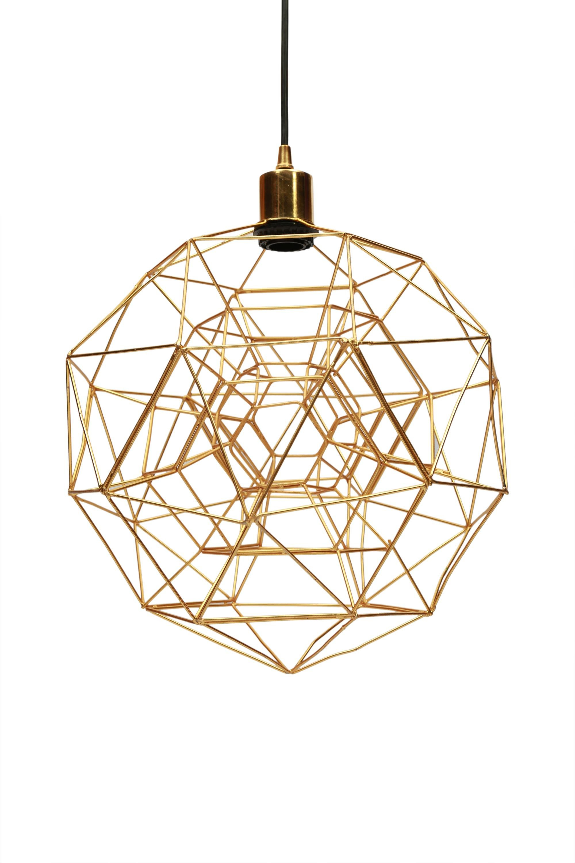 Tinney 1-Light Geometric Pendant pertaining to 1-Light Geometric Globe Pendants (Image 29 of 30)
