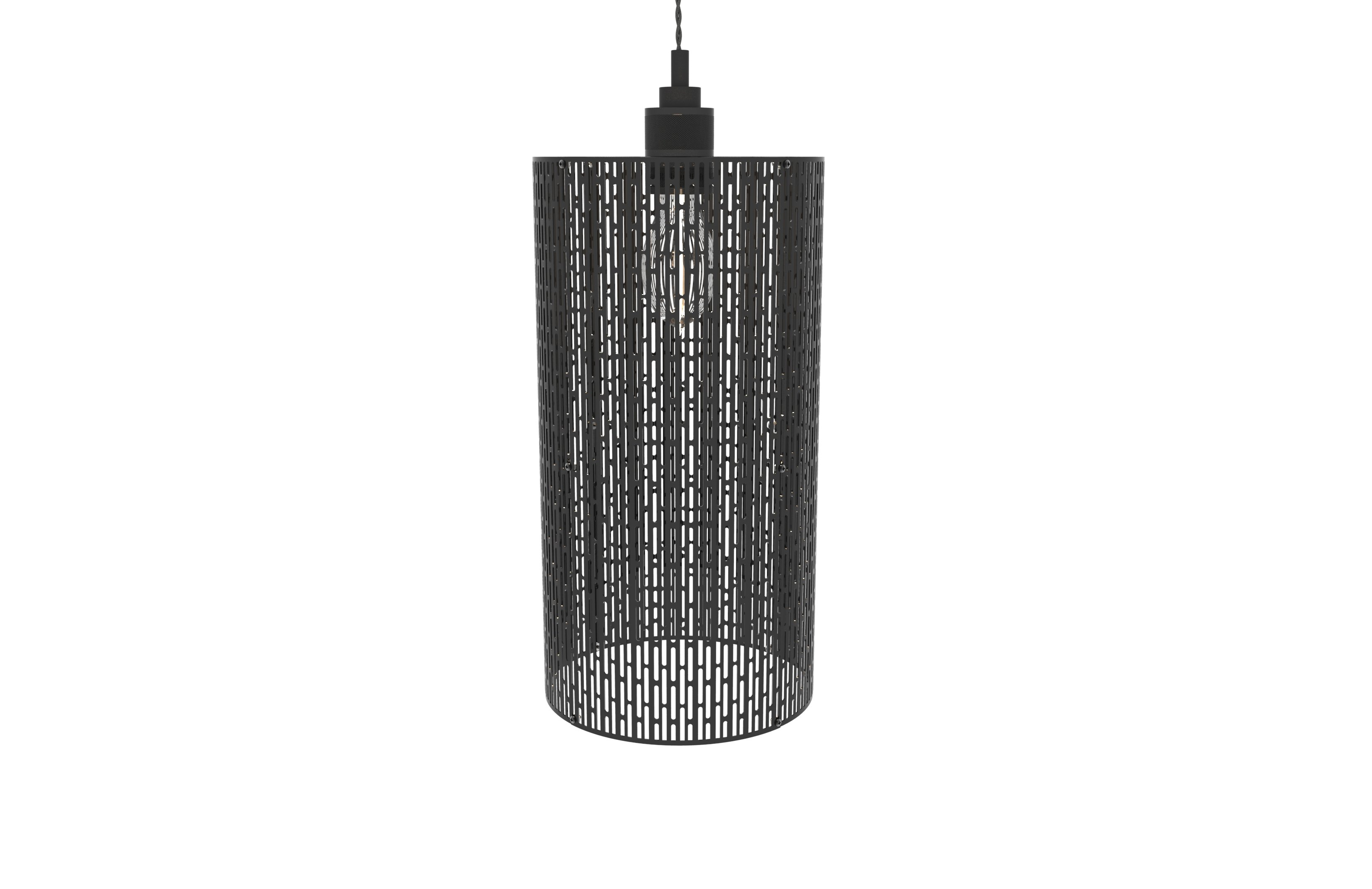 Titus 1-Light Cylinder Pendant for Schutt 1-Light Cylinder Pendants (Image 29 of 30)