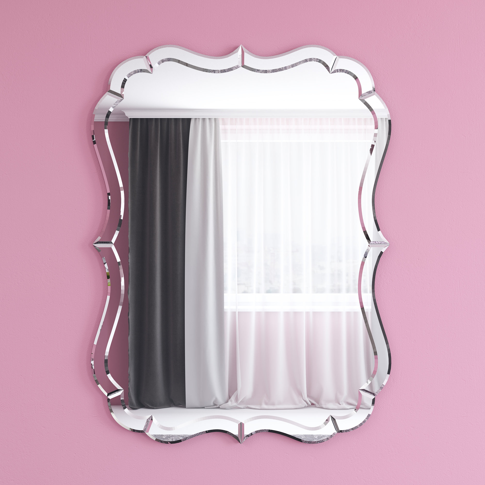 Tolya Accent Mirror Intended For Guidinha Modern & Contemporary Accent Mirrors (View 27 of 30)