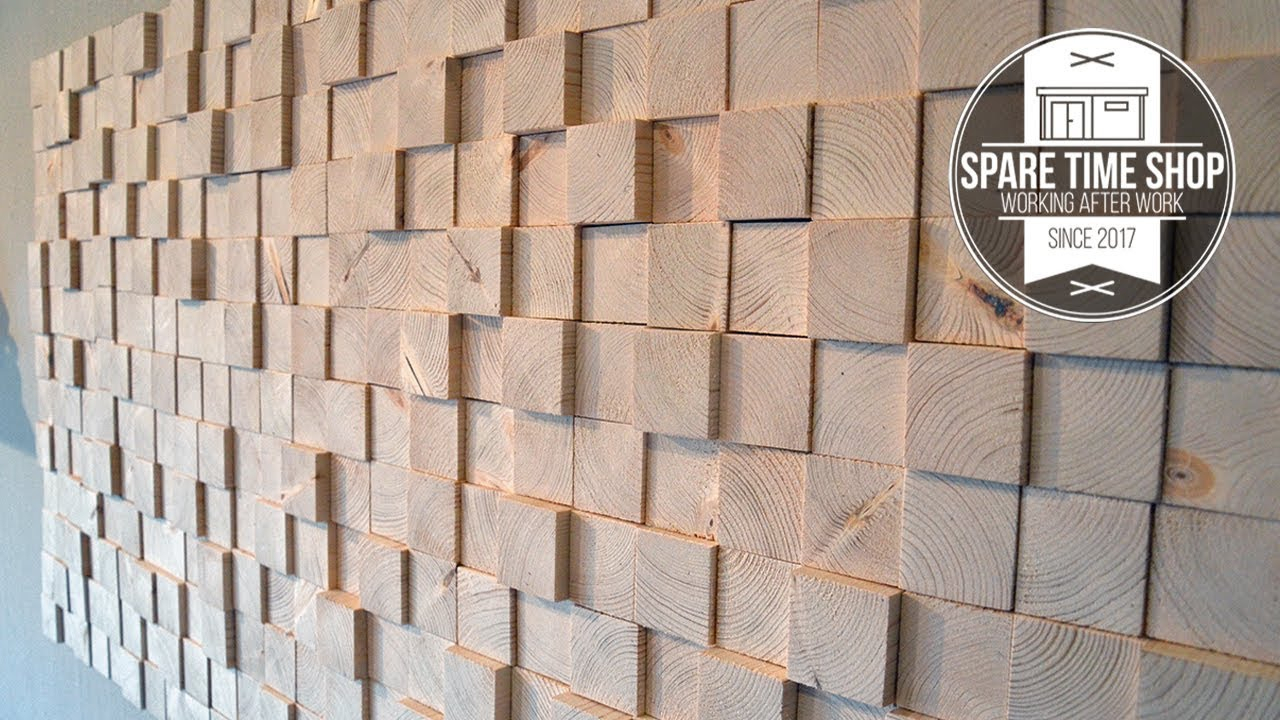 Too Many Blocks / Diy Wall Decoration From Wood Throughout Raised Star Wall Decor (View 19 of 30)