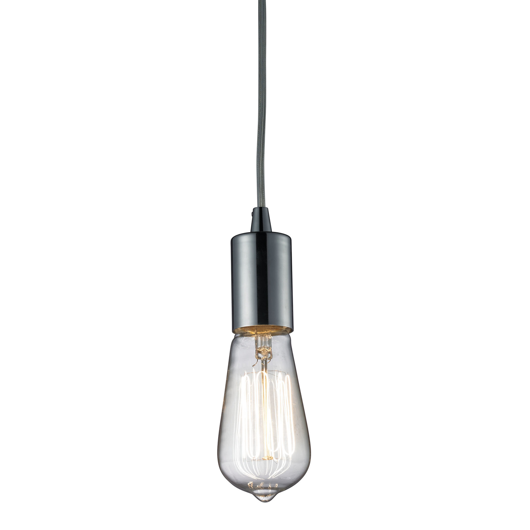 Topete 1 Light Single Bulb Pendant Within Bryker 1 Light Single Bulb Pendants (View 6 of 30)
