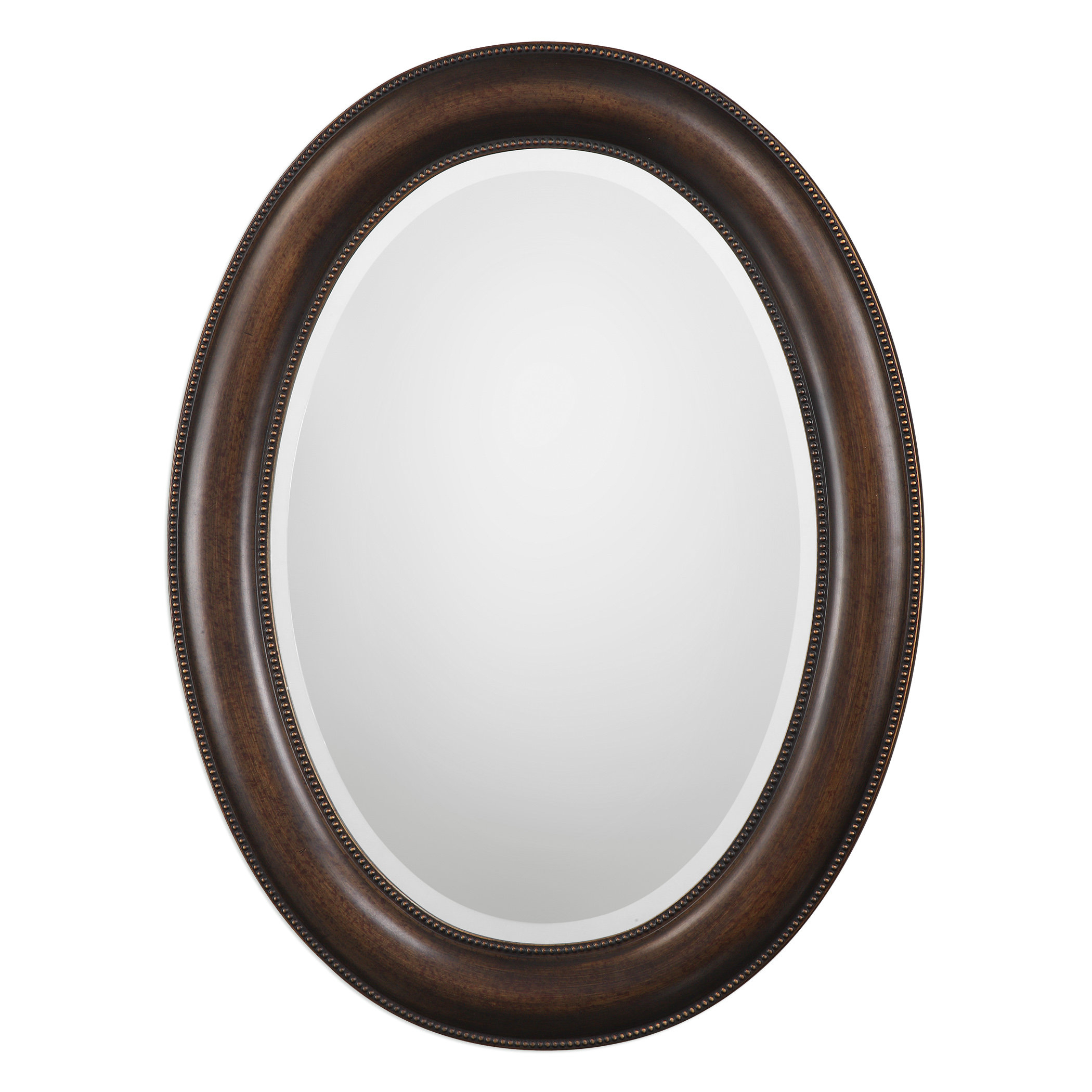 Traditional Beveled Distressed Accent Mirror Inside Alie Traditional Beveled Distressed Accent Mirrors (Image 30 of 30)