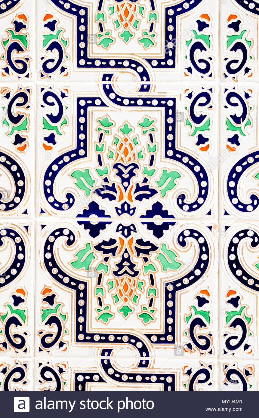 Traditional Ornamental Spanish Decorative Tiles, Original Throughout Spanish Ornamental Wall Decor (View 25 of 30)