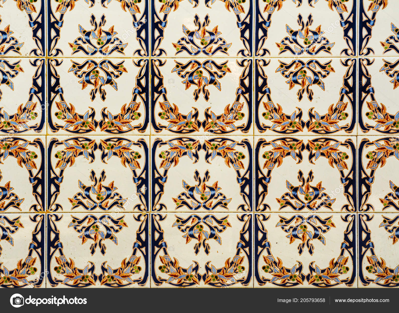 Traditional Ornamental Spanish Decorative Tiles Original Throughout Spanish Ornamental Wall Decor (View 12 of 30)