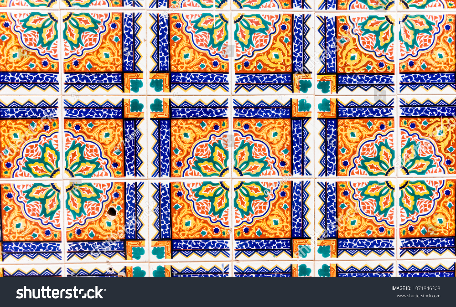 Traditional Ornamental Spanish Decorative Tiles Original With Regard To Spanish Ornamental Wall Decor (View 15 of 30)