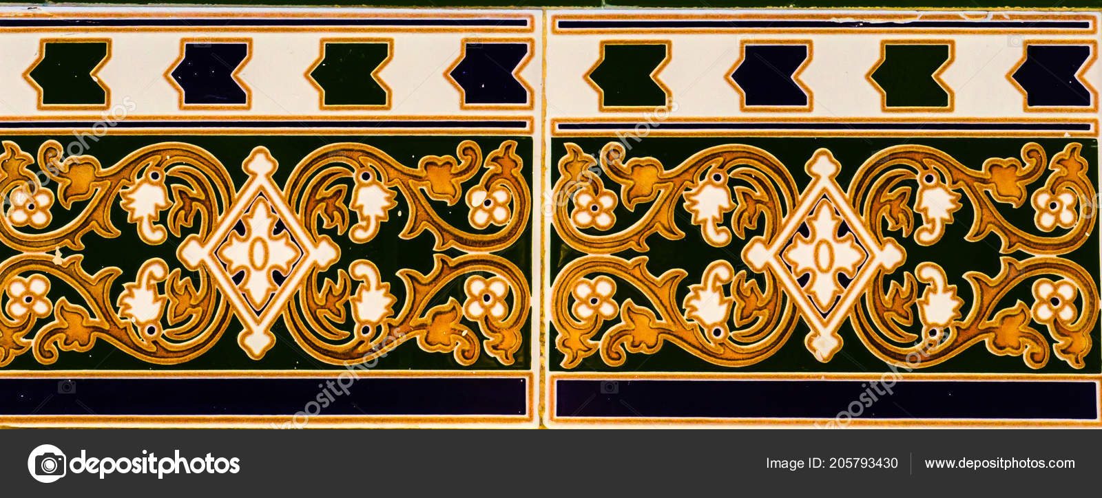 Traditional Ornamental Spanish Decorative Tiles Original Within Spanish Ornamental Wall Decor (View 17 of 30)