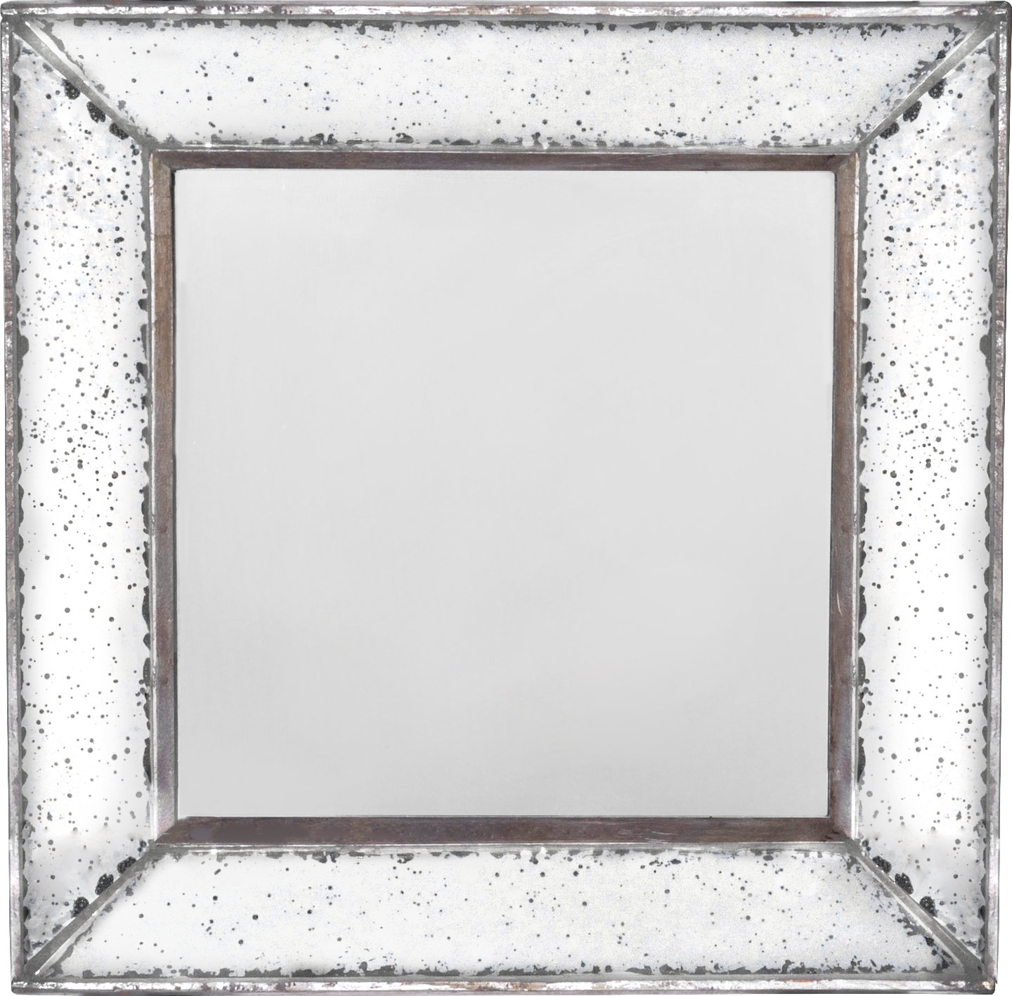 Traditional Square Glass Wall Mirror For Traditional Square Glass Wall Mirrors (View 4 of 30)