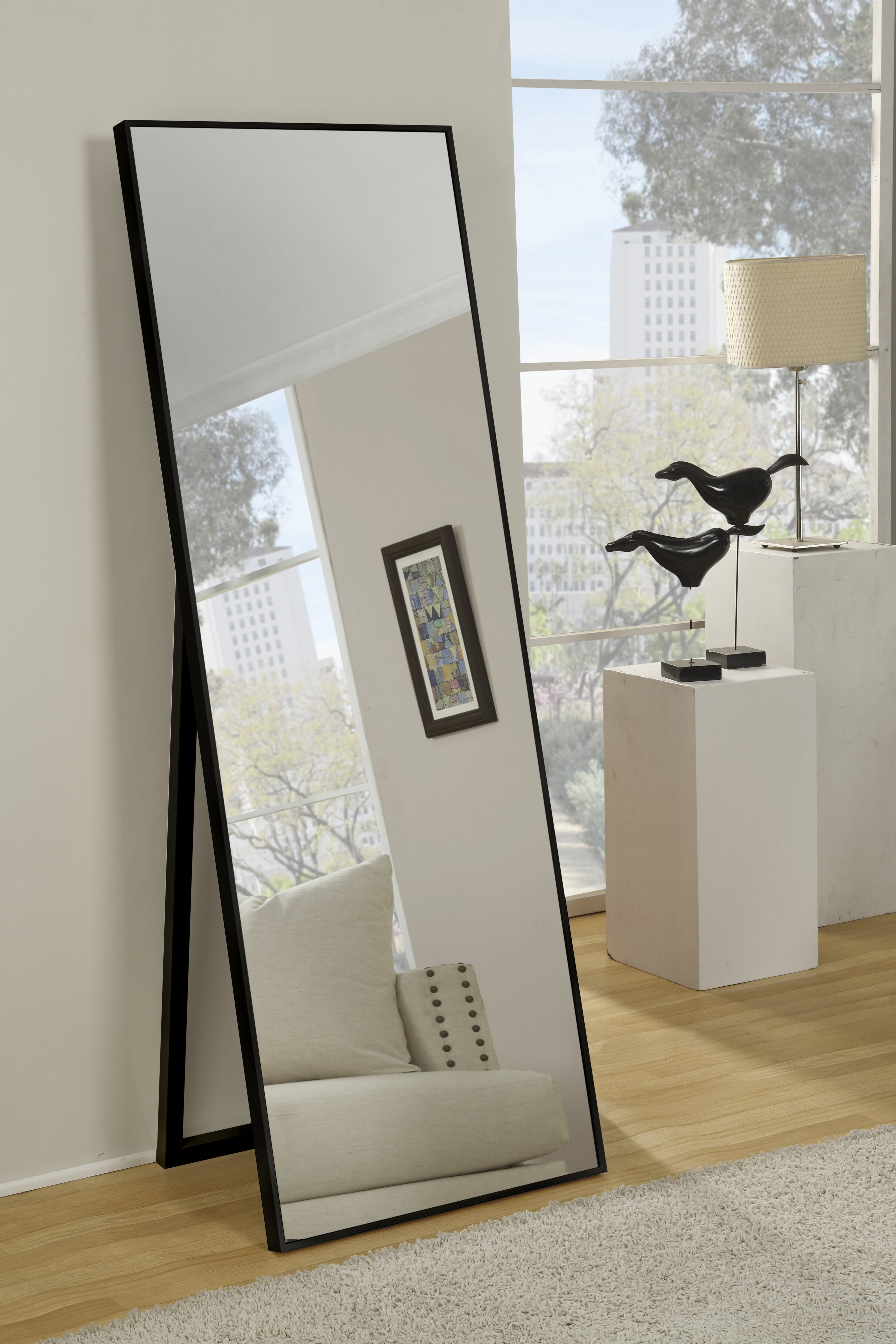 Traub Standing Modern & Contemporary Beveled Full Length Mirror Intended For Modern & Contemporary Full Length Mirrors (View 8 of 30)