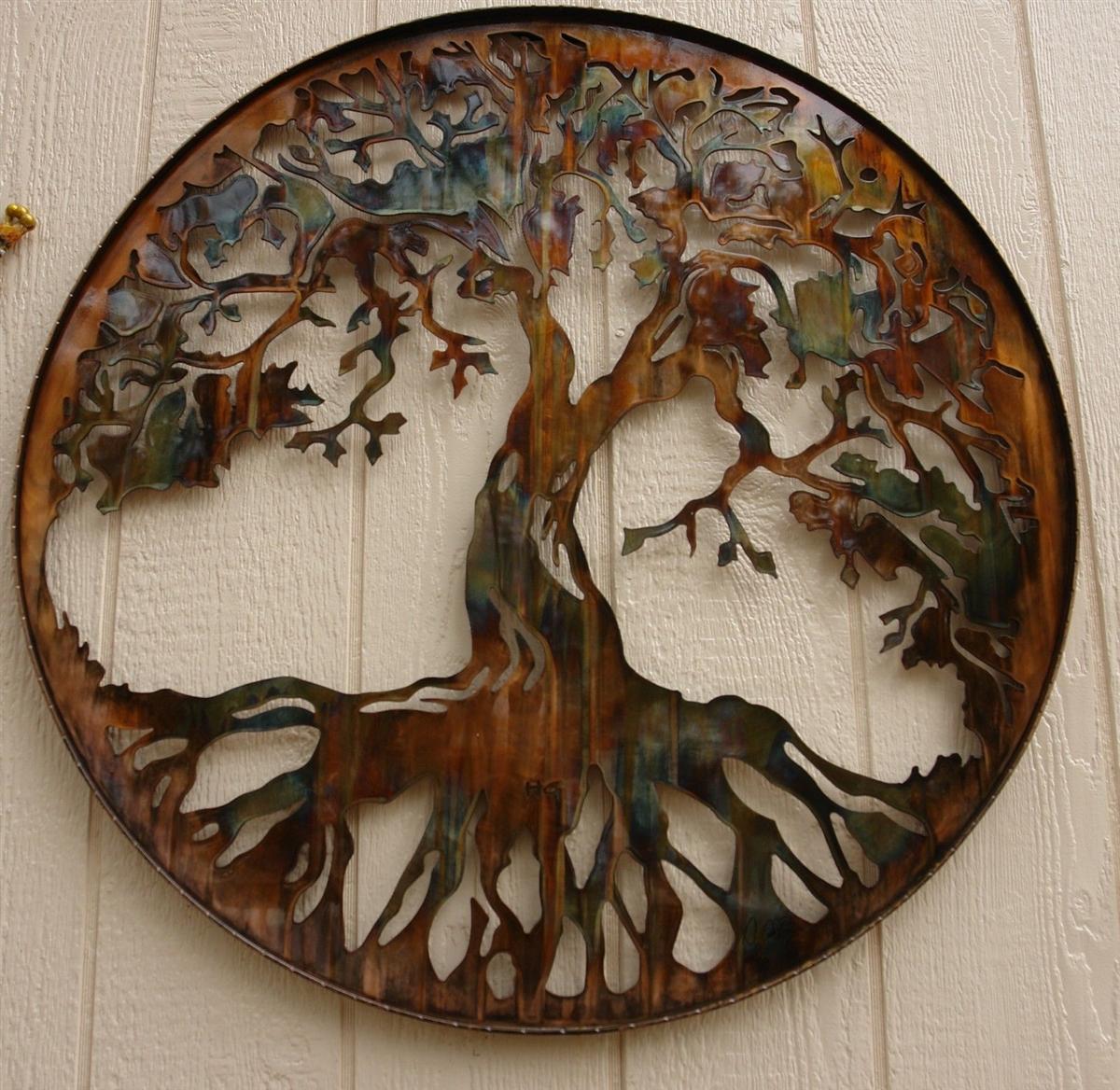 "Tree Of Life 34"" Regarding Tree Of Life Wall Decor (View 18 of 30)"