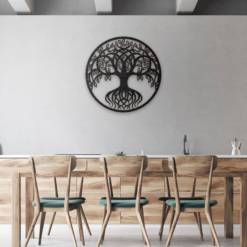 Tree Of Life Metal Wall Art For Tree Of Life Wall Decor (View 20 of 30)