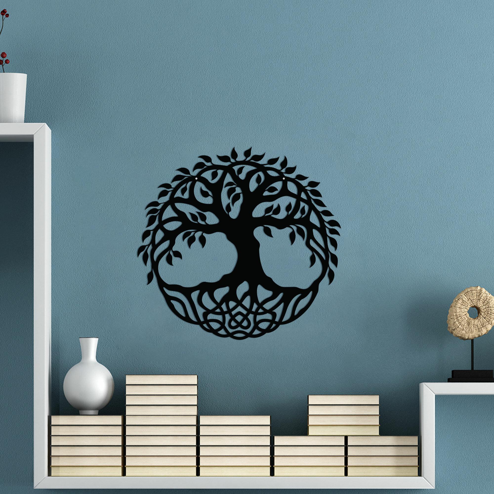 Tree Of Life Wall Art | Wayfair (View 10 of 30)