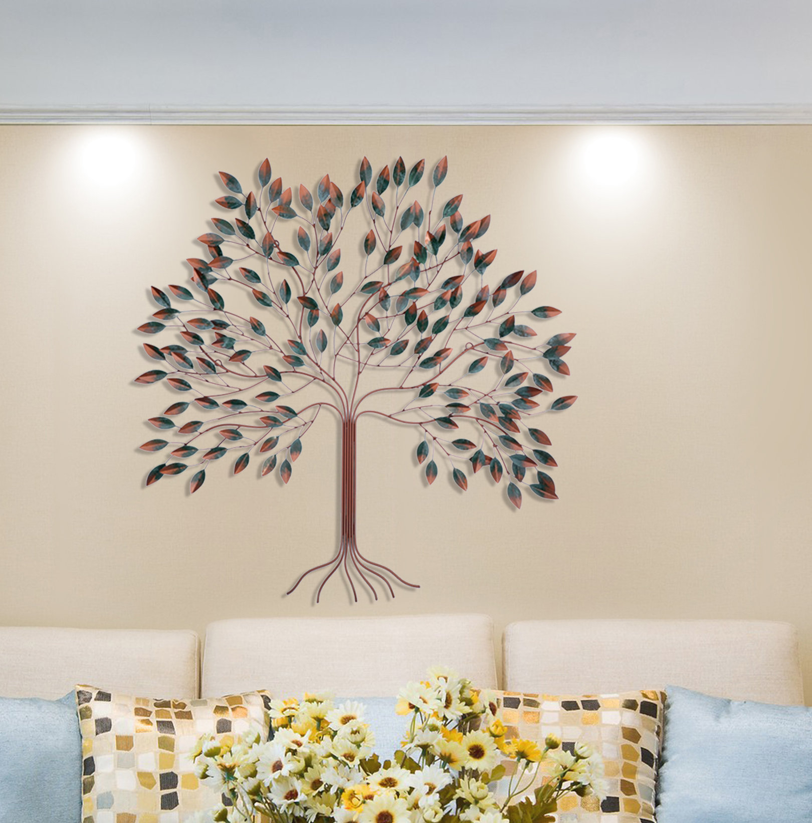 Tree Of Life Wall Décor Intended For Tree Of Life Wall Decor (View 2 of 30)