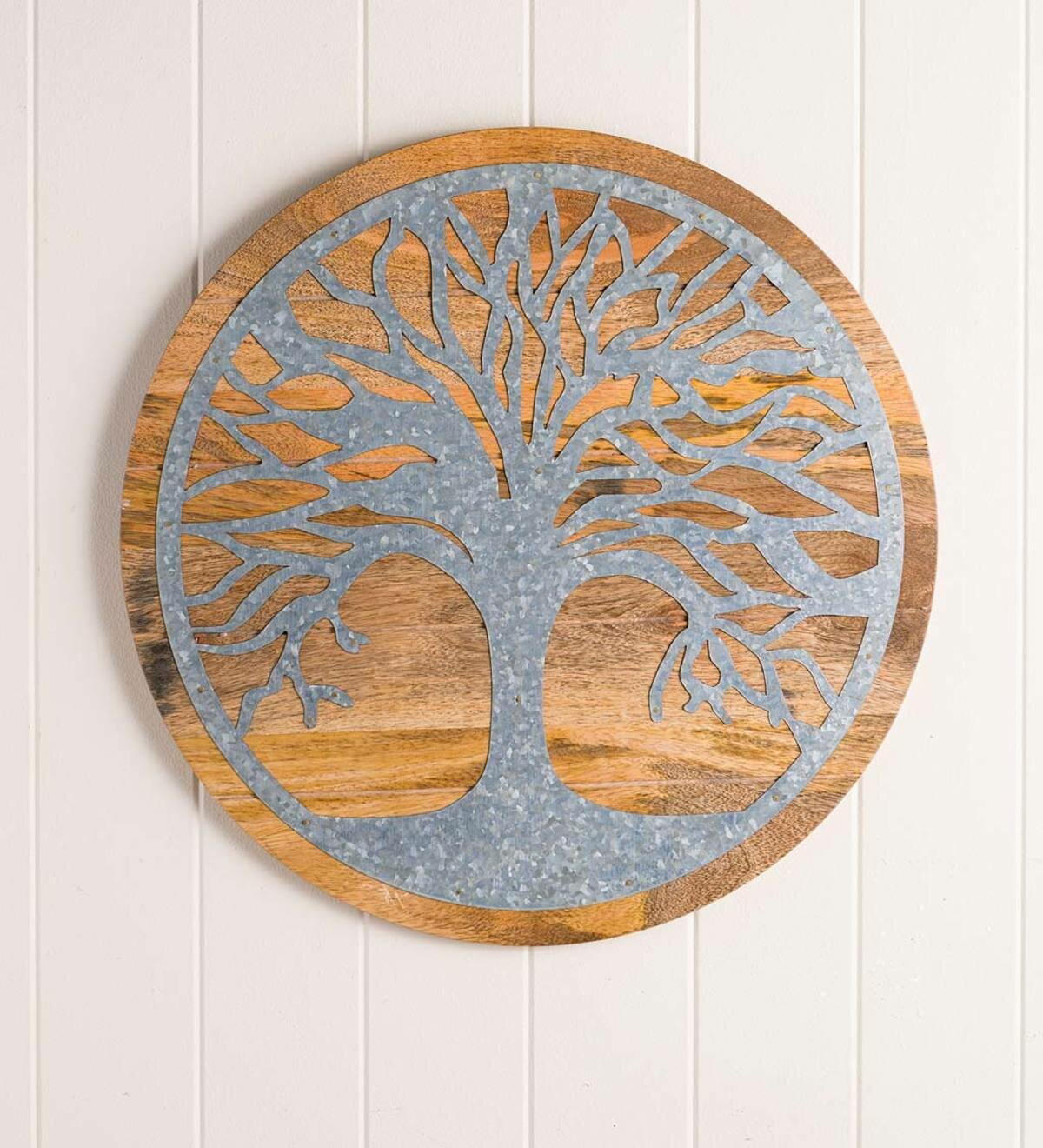 Tree Of Life Wood And Metal Wall Decor With Regard To Tree Of Life Wall Decor (View 12 of 30)