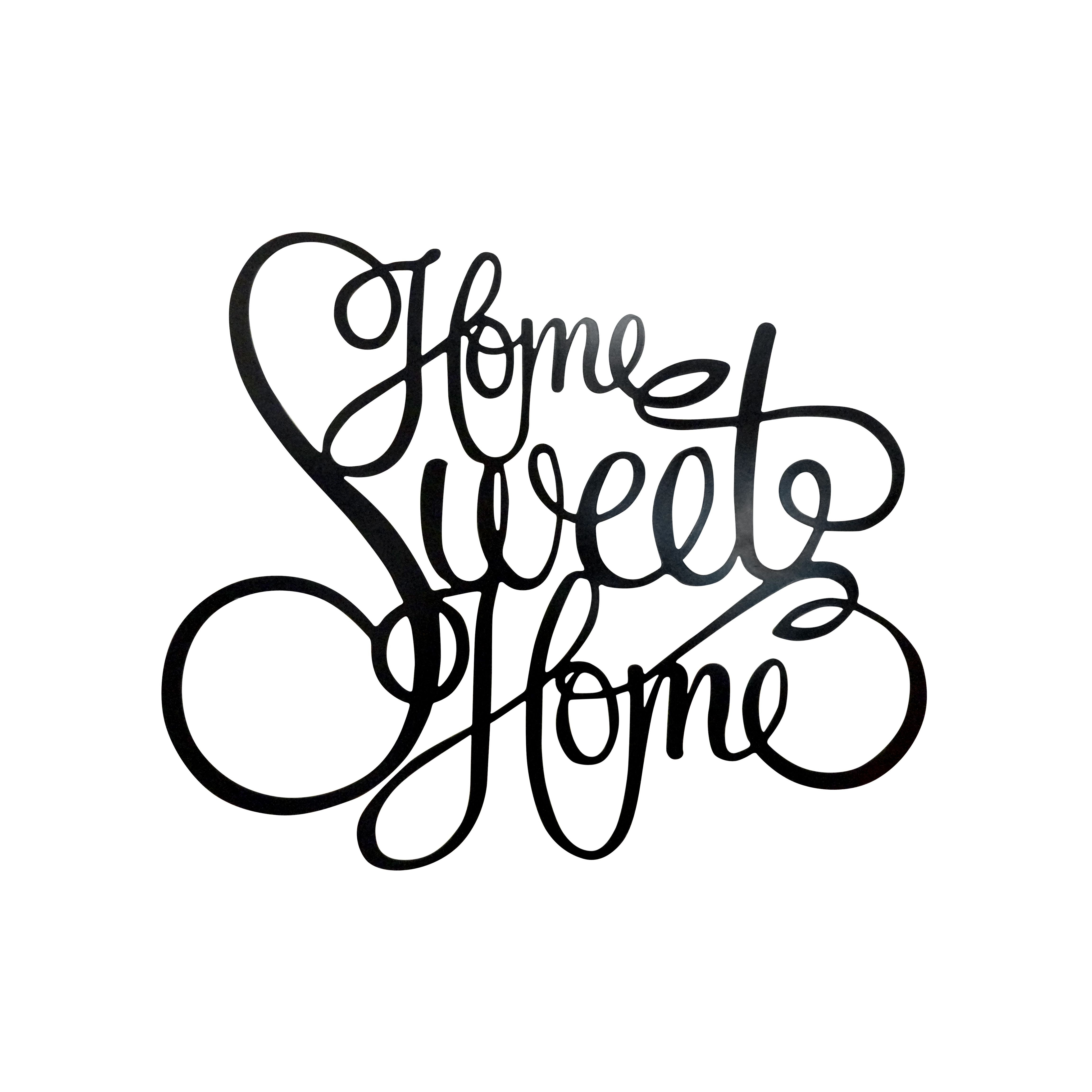 Trekdecor Legacy Laser Engraved Home Sweet Home Wall Décor In Laser Engraved Home Sweet Home Wall Decor (View 5 of 30)