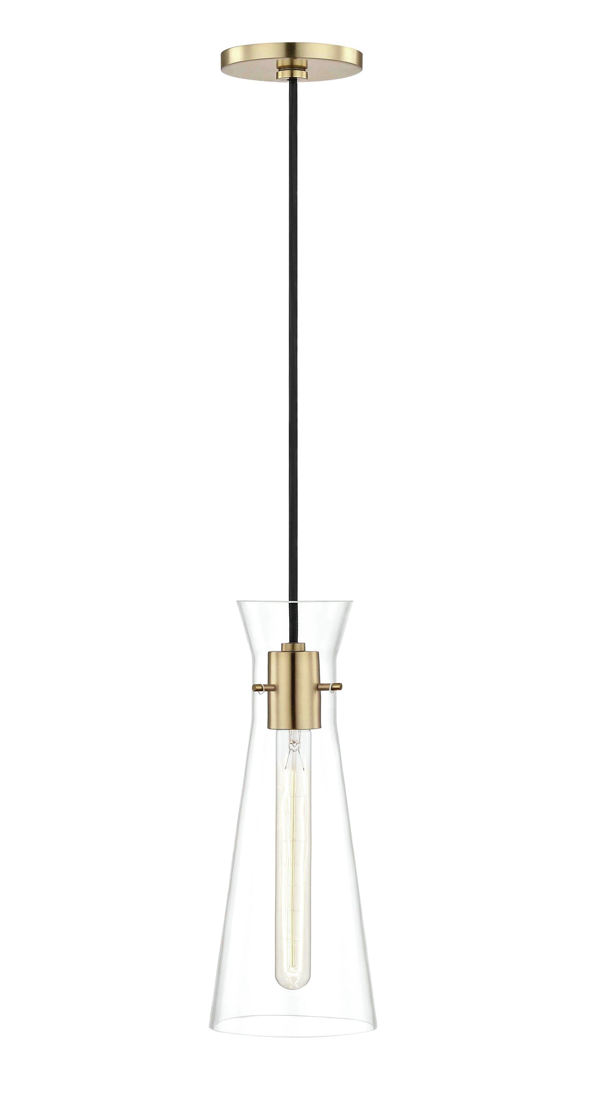 Tucker 1 Light Novelty Pendant Pertaining To Callington 1 Light Led Single Geometric Pendants (View 28 of 30)