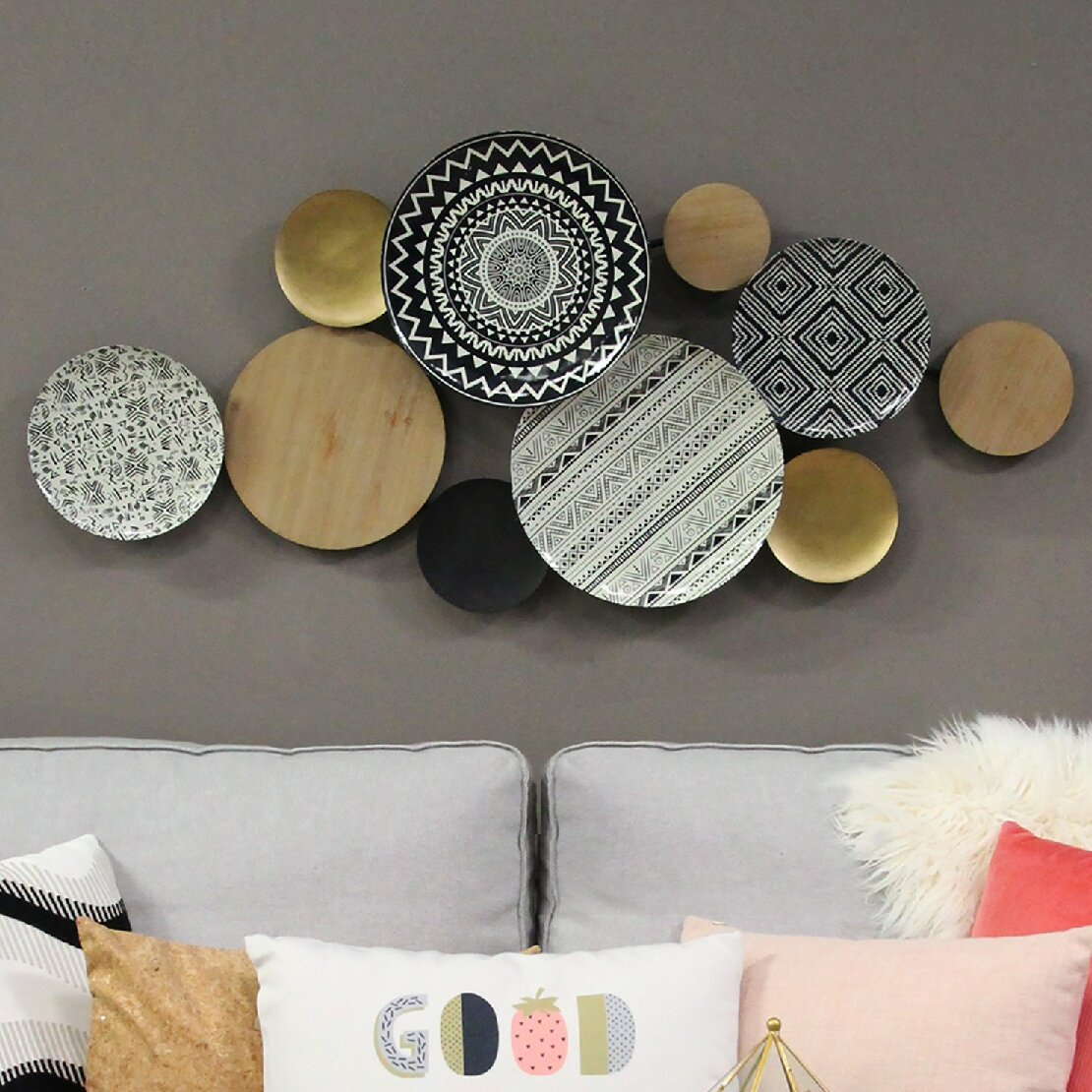 Tuscan Wall Decor Plates | Wayfair For Scattered Metal Italian Plates Wall Decor (View 7 of 30)