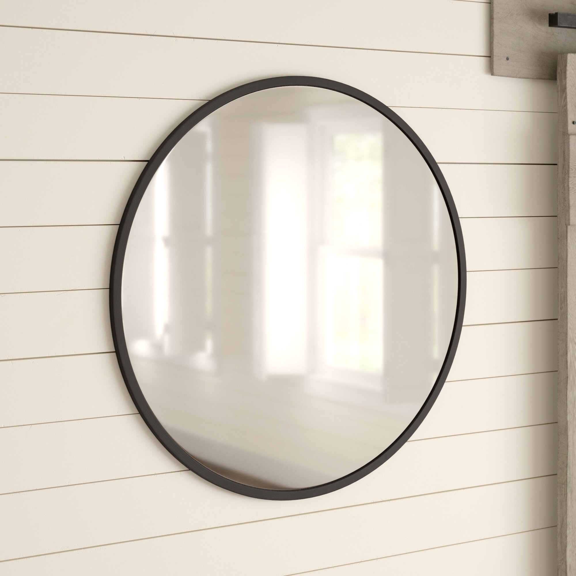Umbra Hub Modern And Contemporary Accent Mirror With Menachem Modern & Contemporary Accent Mirrors (Image 27 of 30)